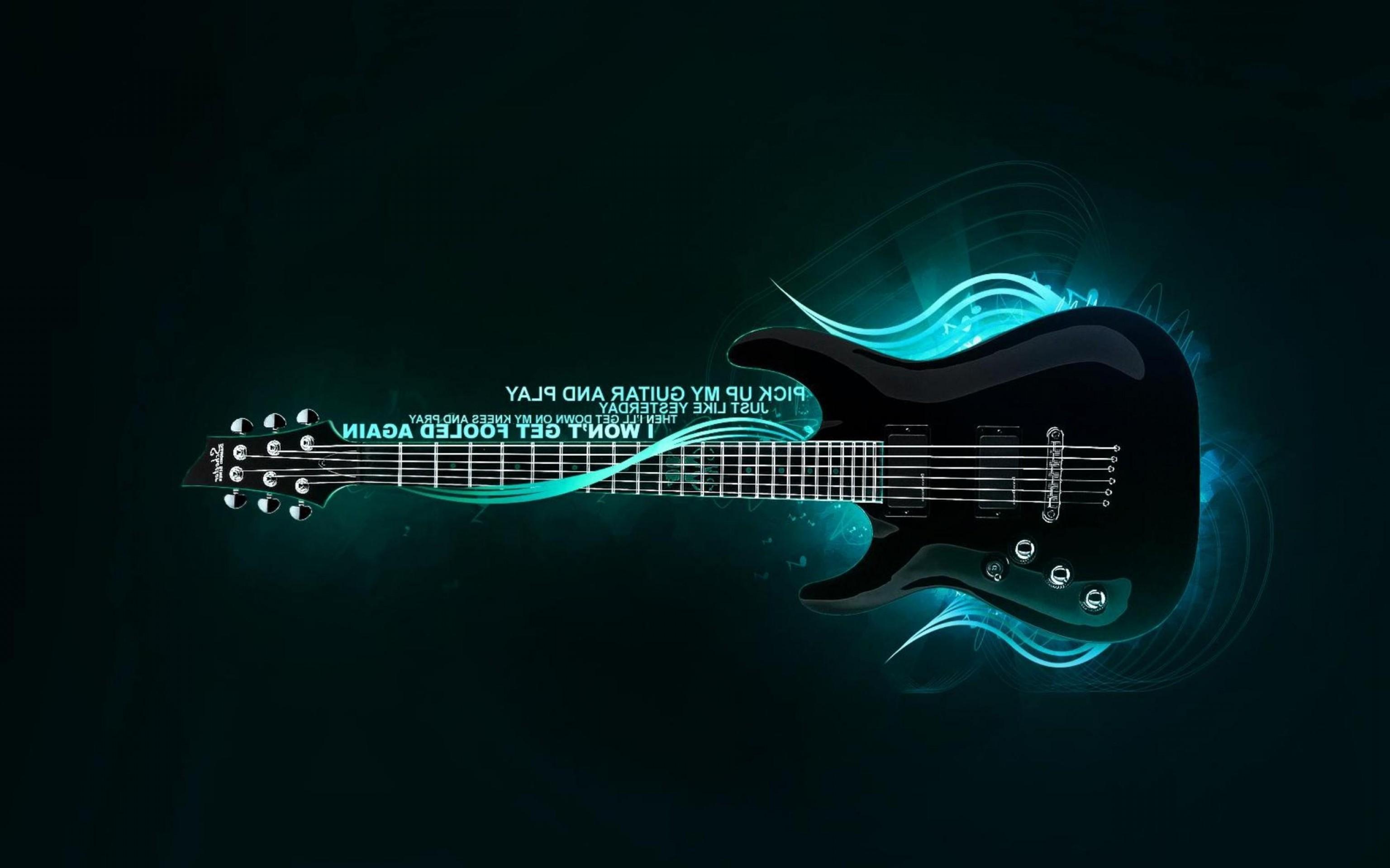 Res: 3072x1920, 3D HUD Vector Wallpaper: D Electric Guitar Vector Hd Wallpaper