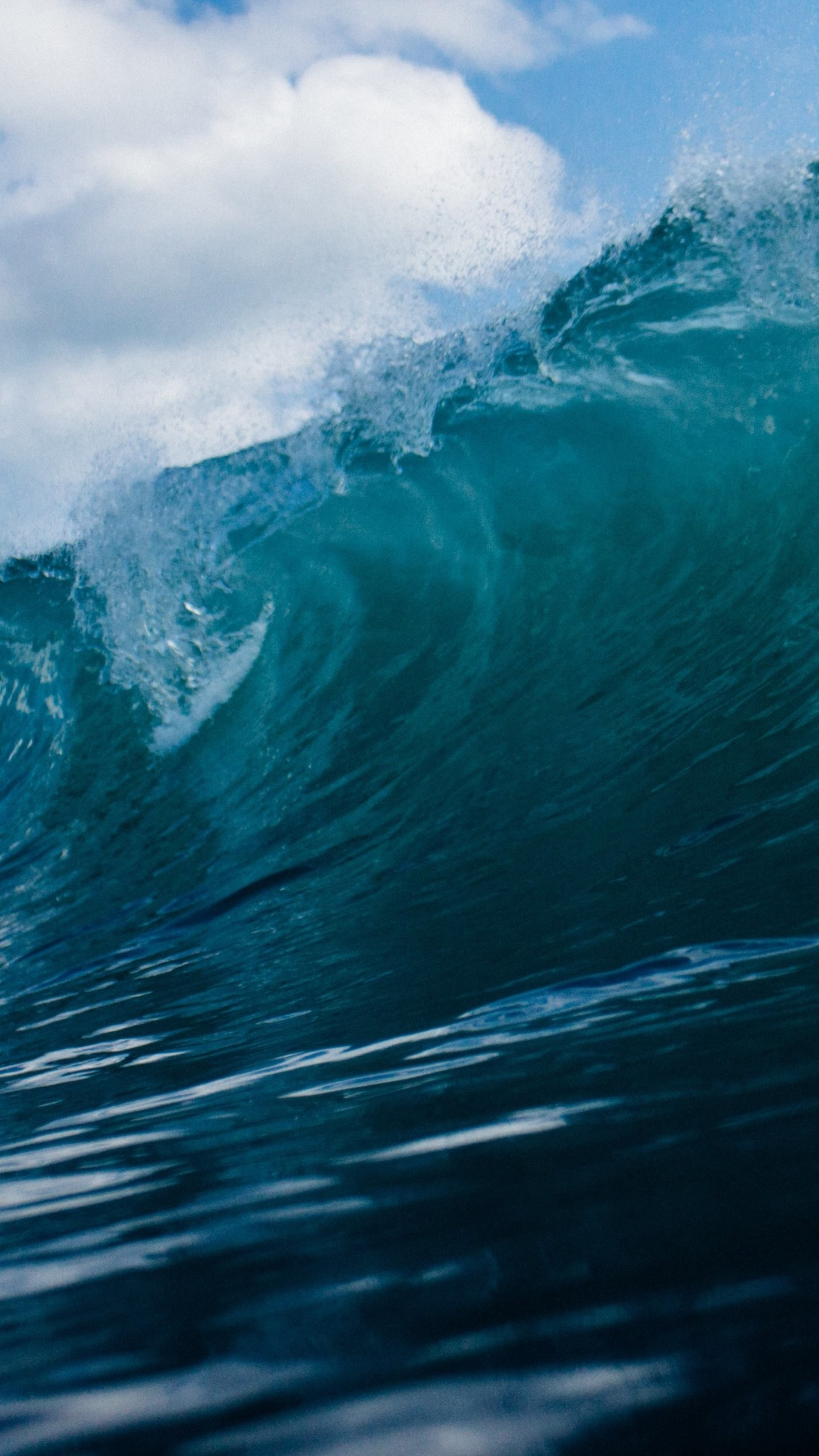 Res: 1440x2560, Ocean Wave