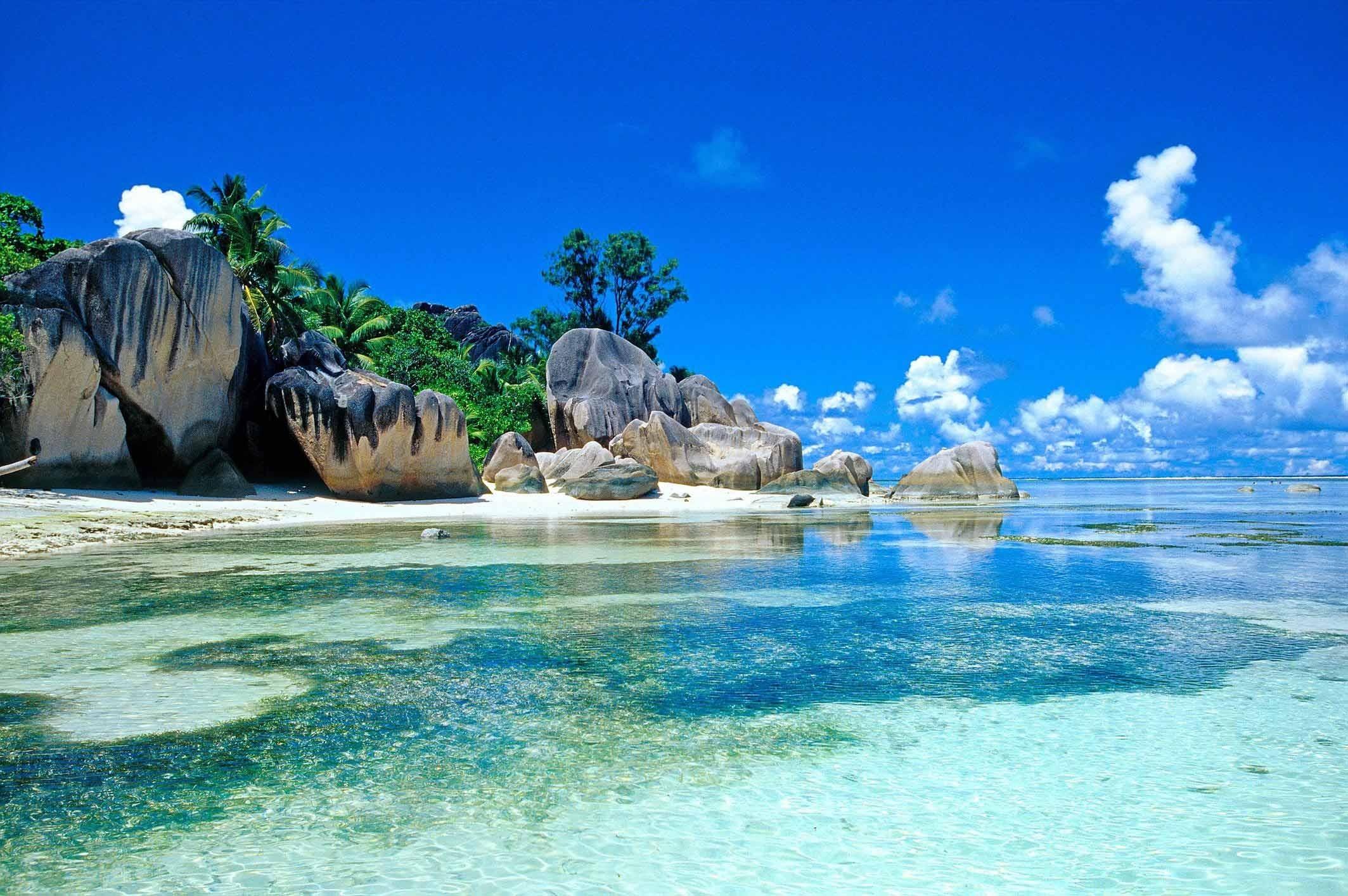 Res: 2127x1414, Beautiful Sea View HD Wallpaper