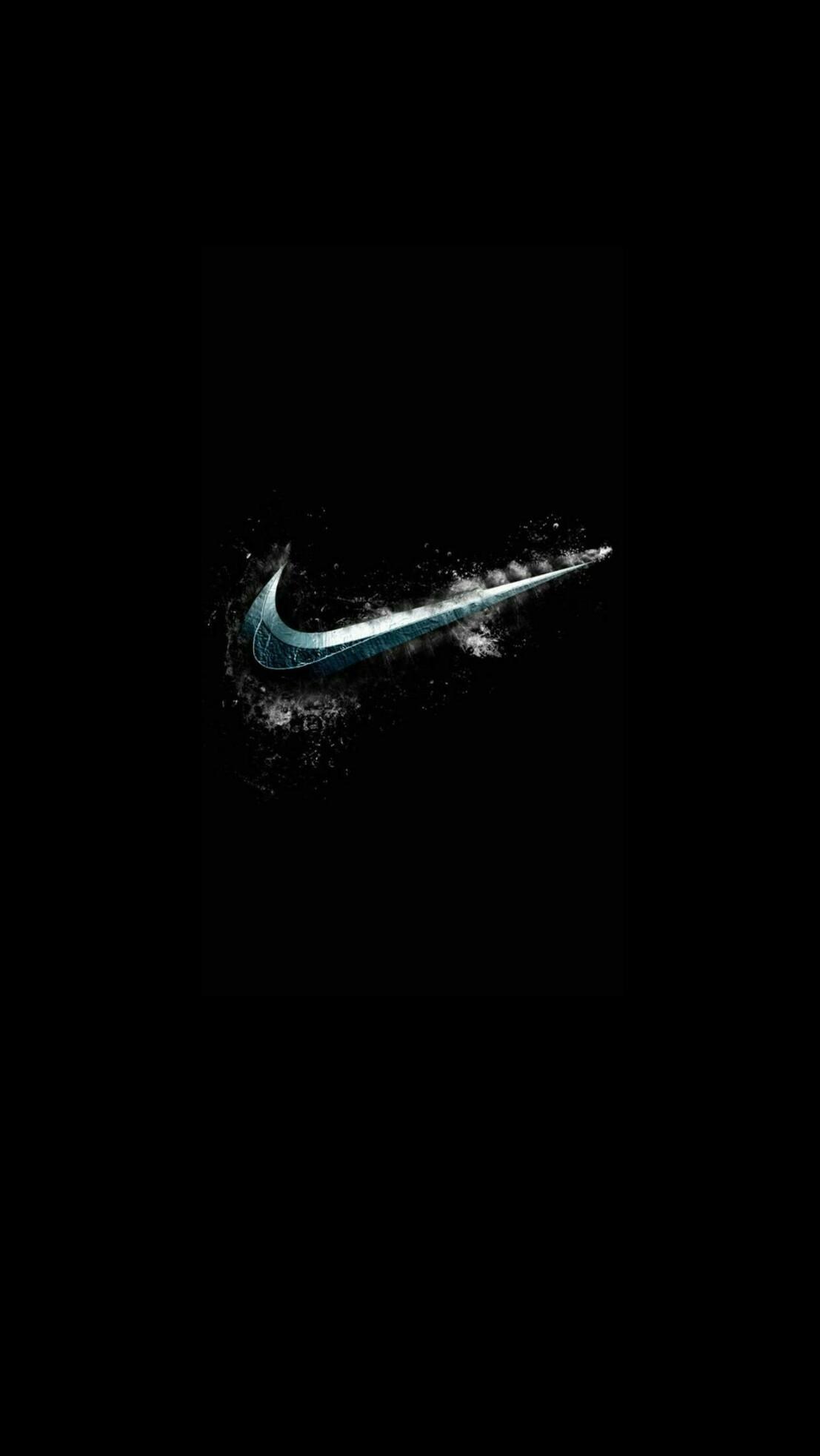 Res: 1107x1965, Nike Black Wallpaper
