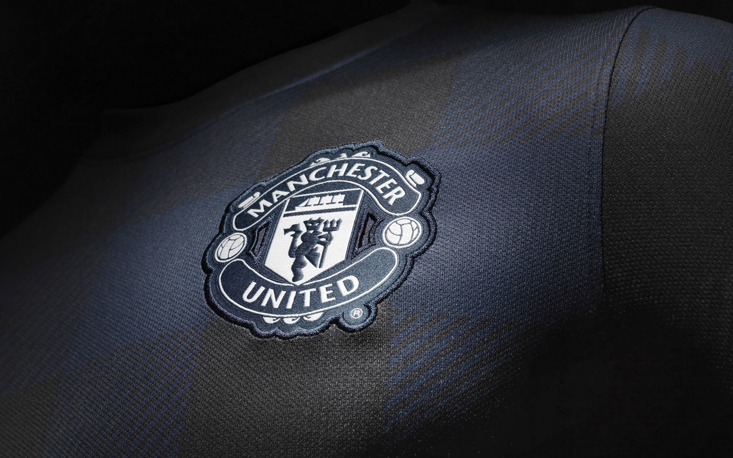 Res: 2560x1600, Manchester United Black Wallpaper High Resolution