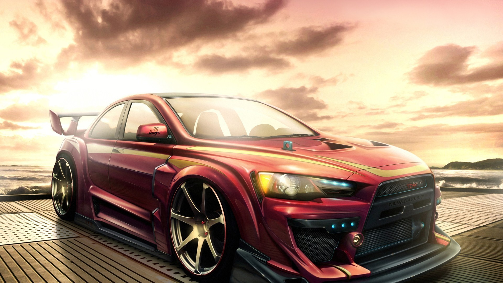 Res: 1920x1080, 1920x1200 mitsubishi lancer evolution evo tuning cars wallpapers cars auto  wallpapers