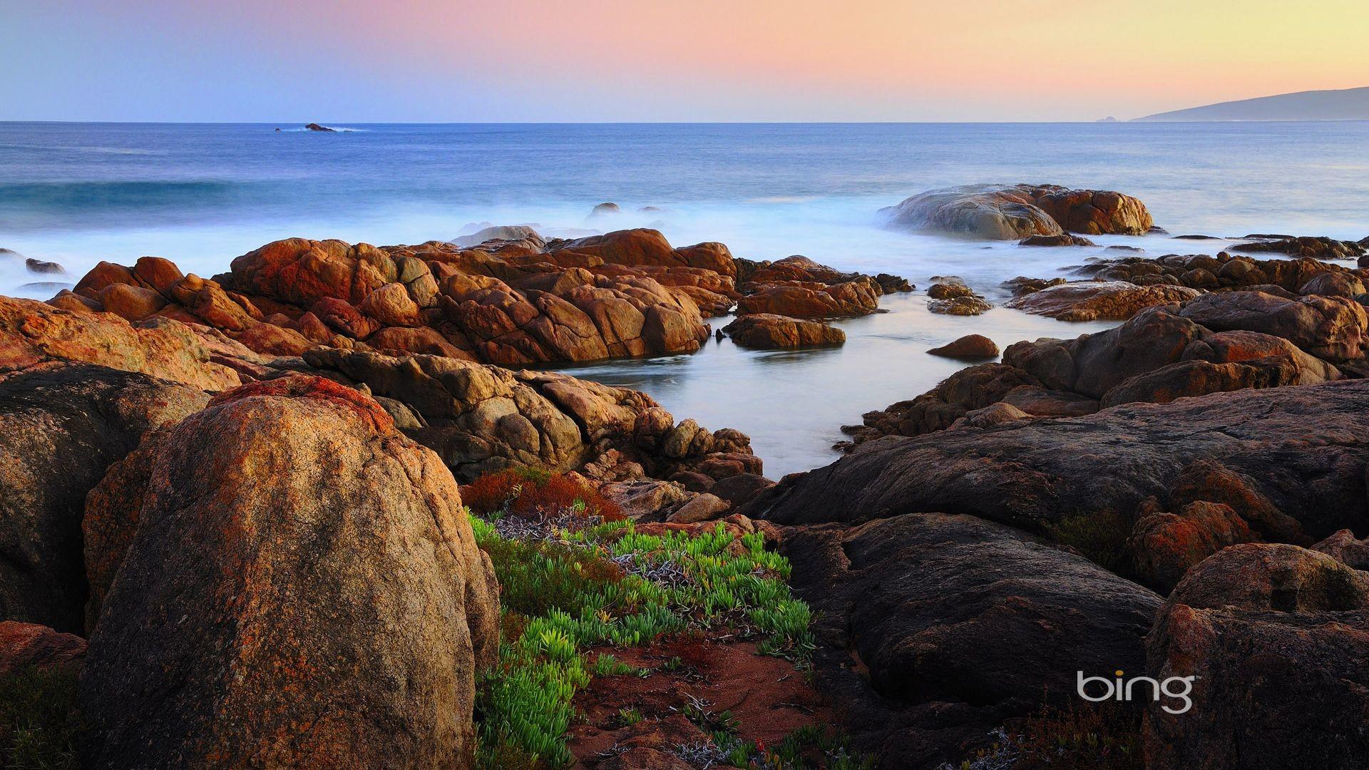 Res: 1920x1080, Australia Canal Rocks. Bing. [Desktop wallpaper ]