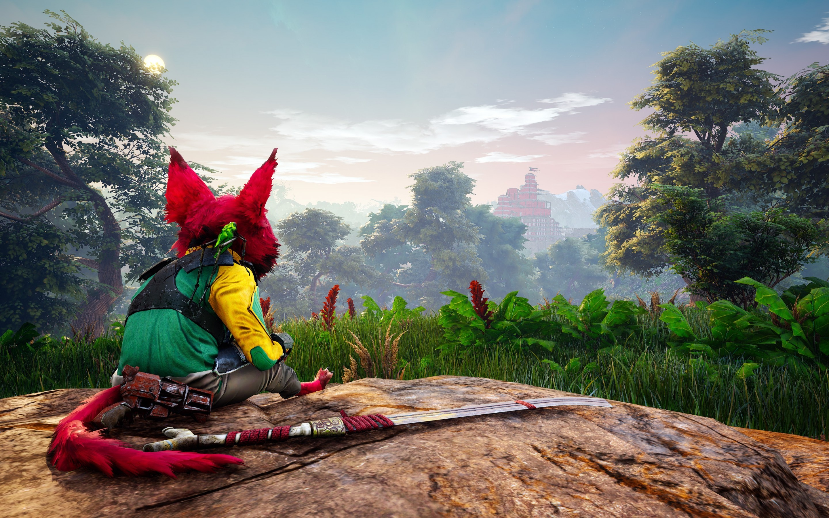 Res: 2880x1800, Biomutant HD Wallpapers