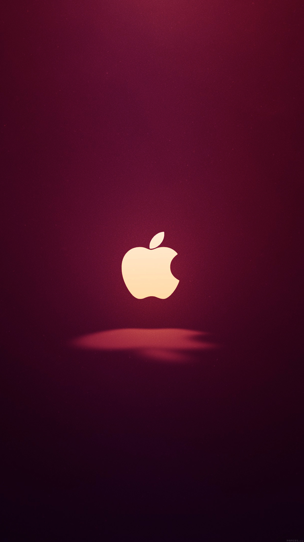 Res: 1242x2208, ai61-apple-logo-love-mania-wine-red