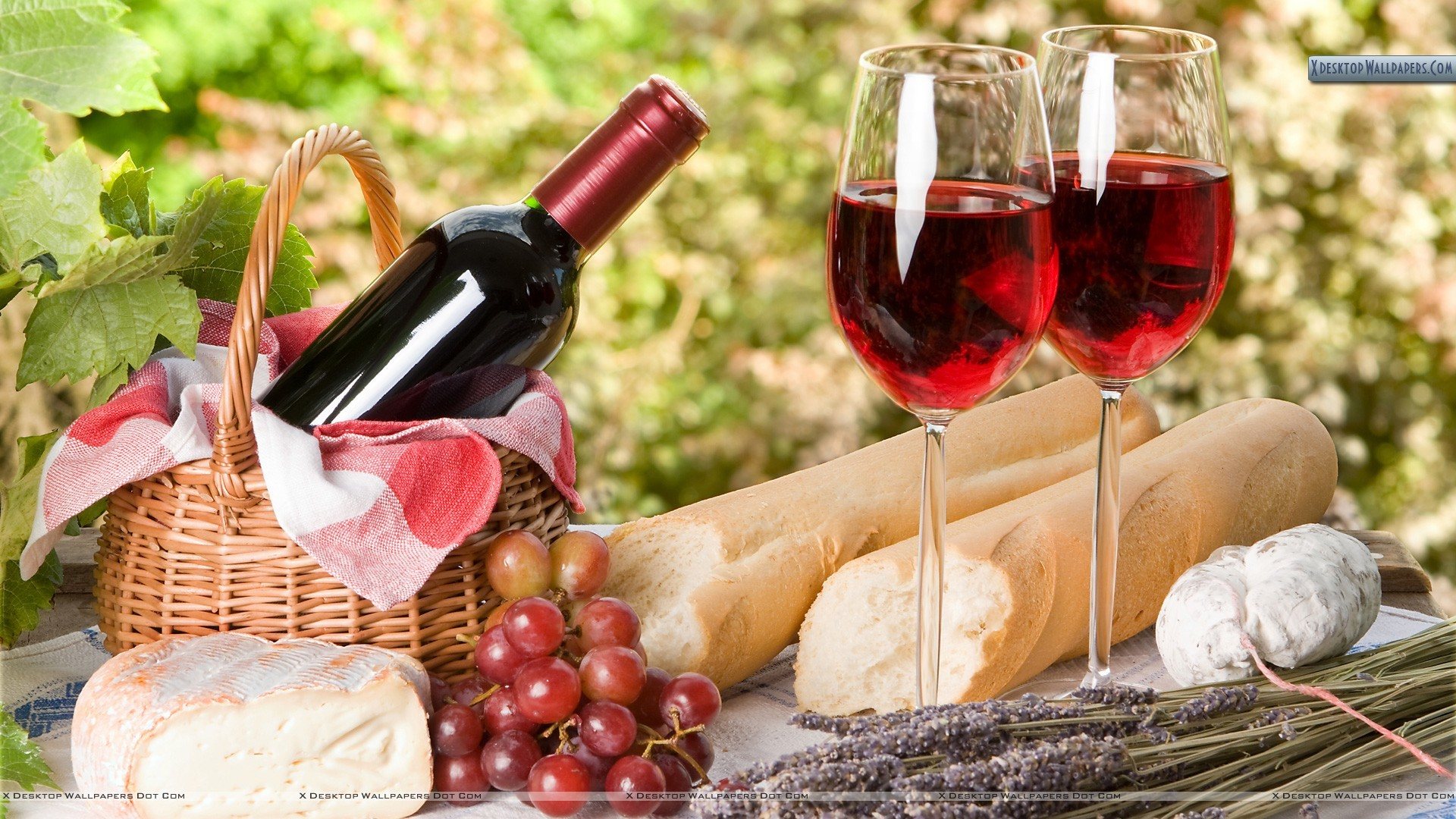 "Res: 1920x1080, You are viewing wallpaper titled ""Red Wine ..."
