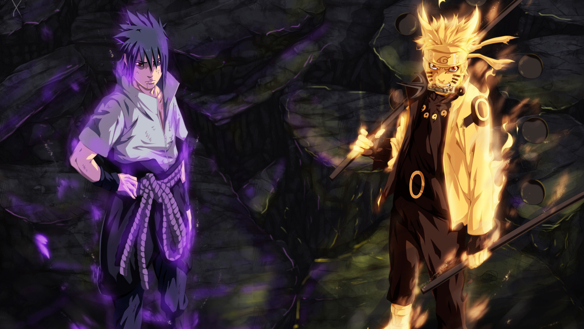 Res: 1920x1080, Group Of Naruto Sage Of Six Paths Wallpaper