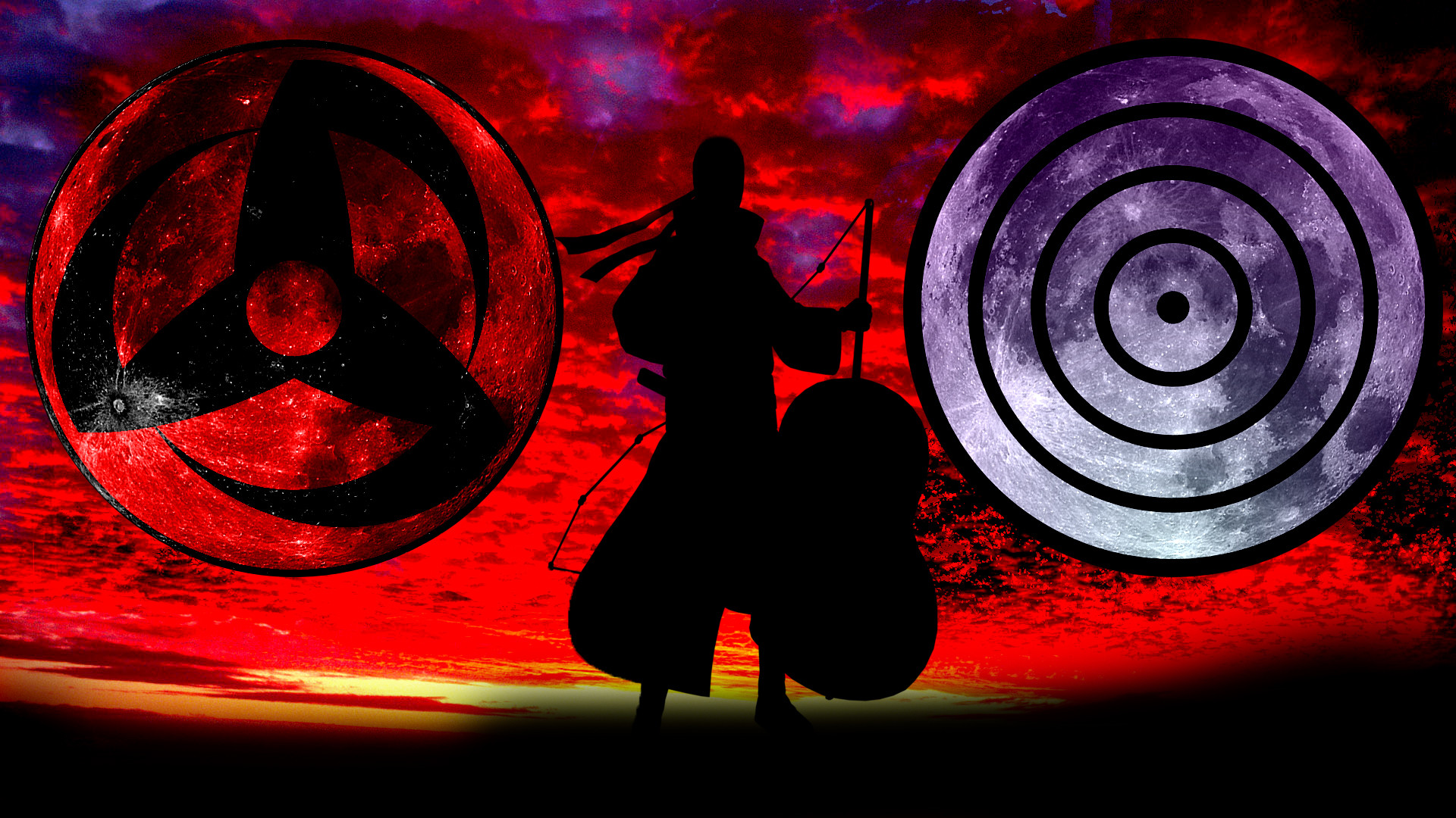 Res: 1920x1080, Madara Sharingan Wallpapers ...