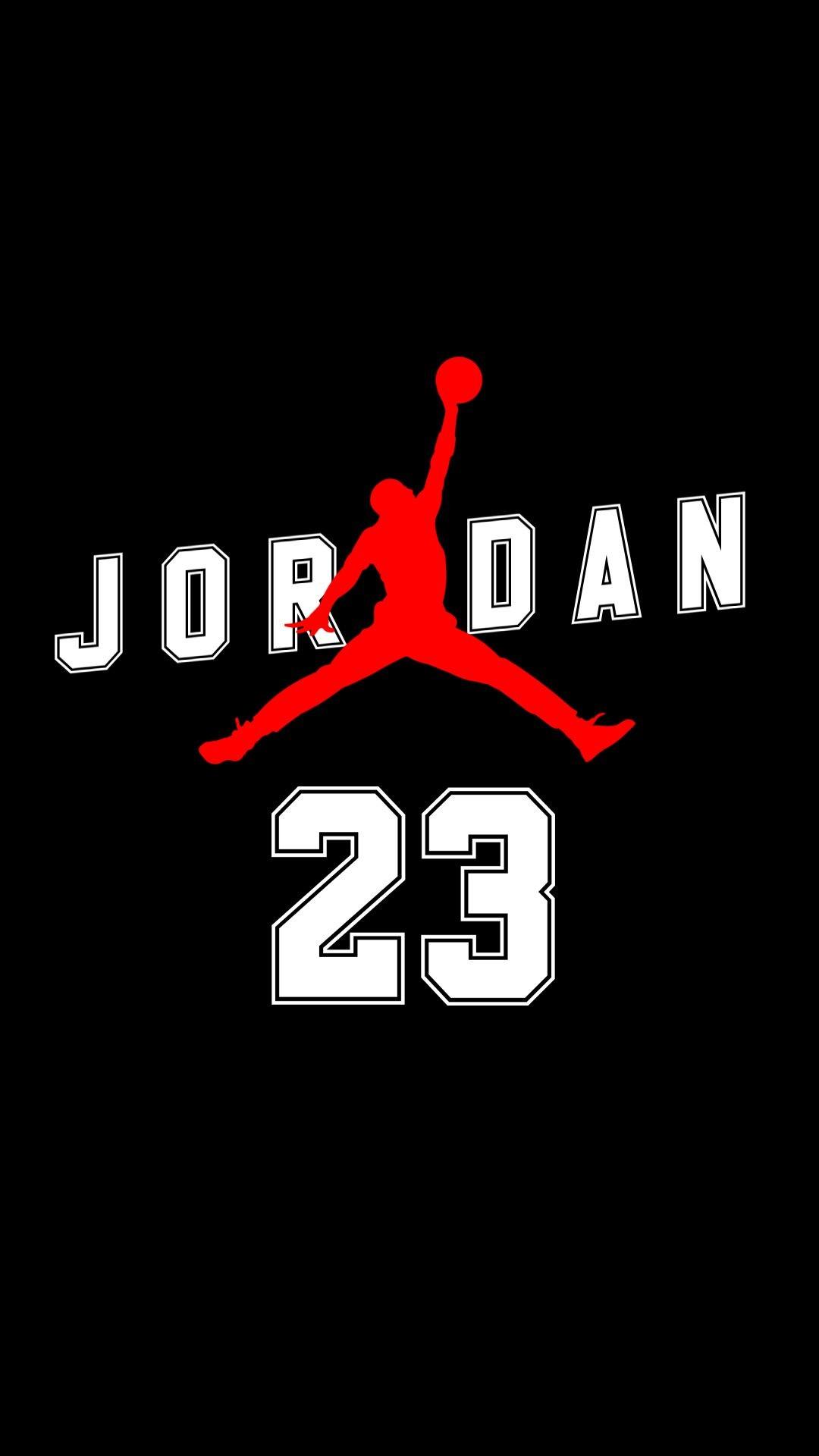 Res: 1080x1920, Fondo de pantalla Jordan 1920x1080 Util Android Iphone Jordan Logo, Jordan  23, Michael Jordan