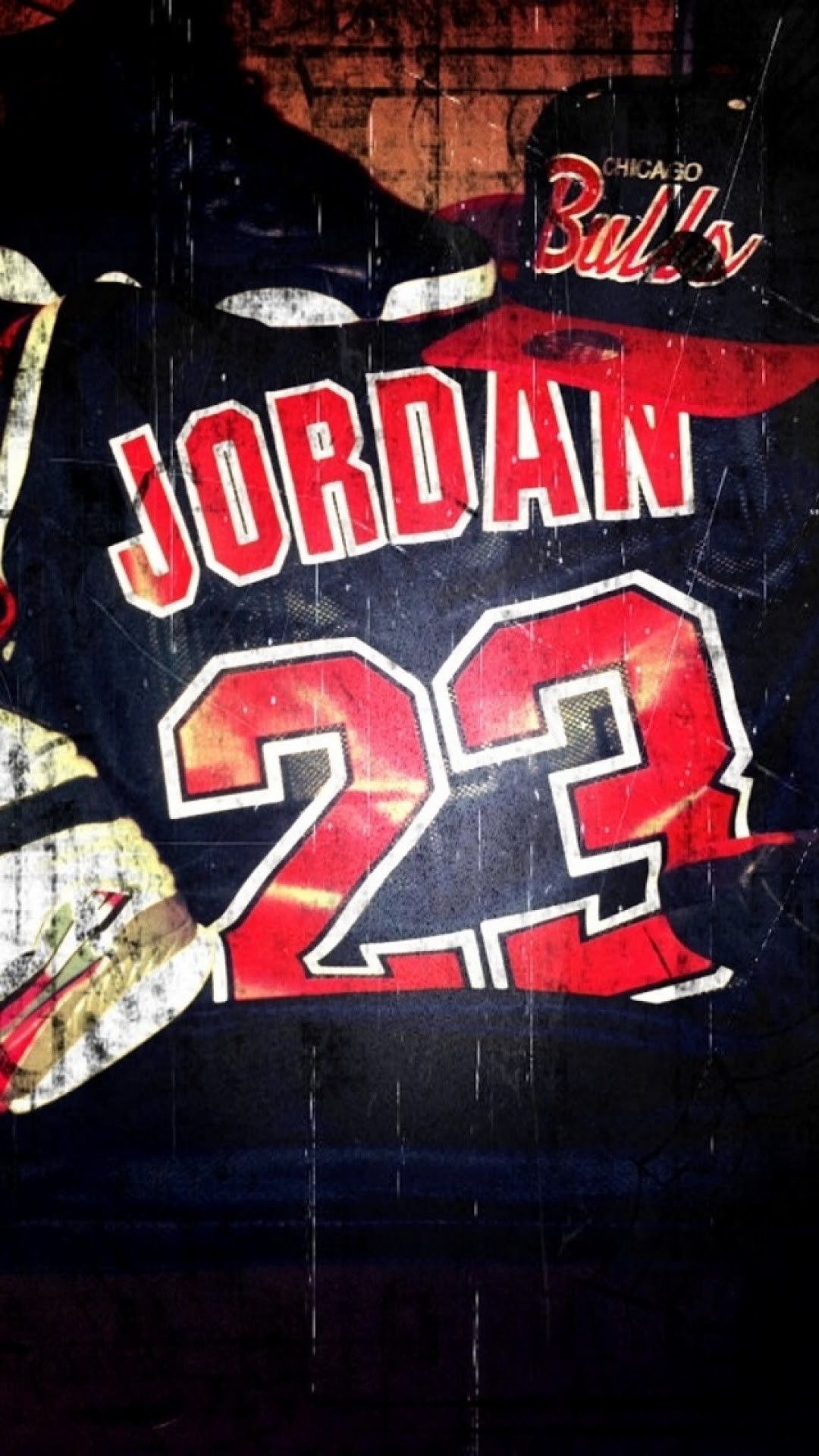 Res: 1080x1920, Click here to download  pixel Chicago Bulls Jersey Jordan 23  Android Best Wallpaper
