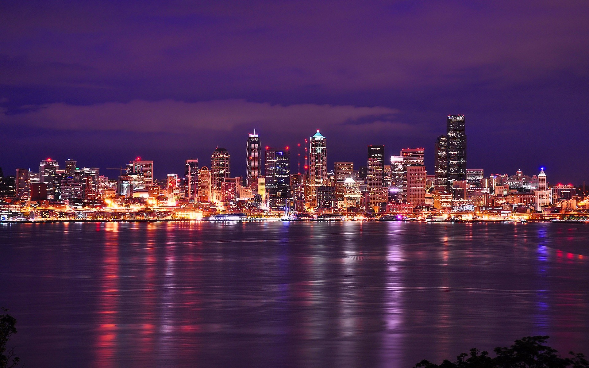 Res: 1920x1200, Seattle Skyline Wallpaper