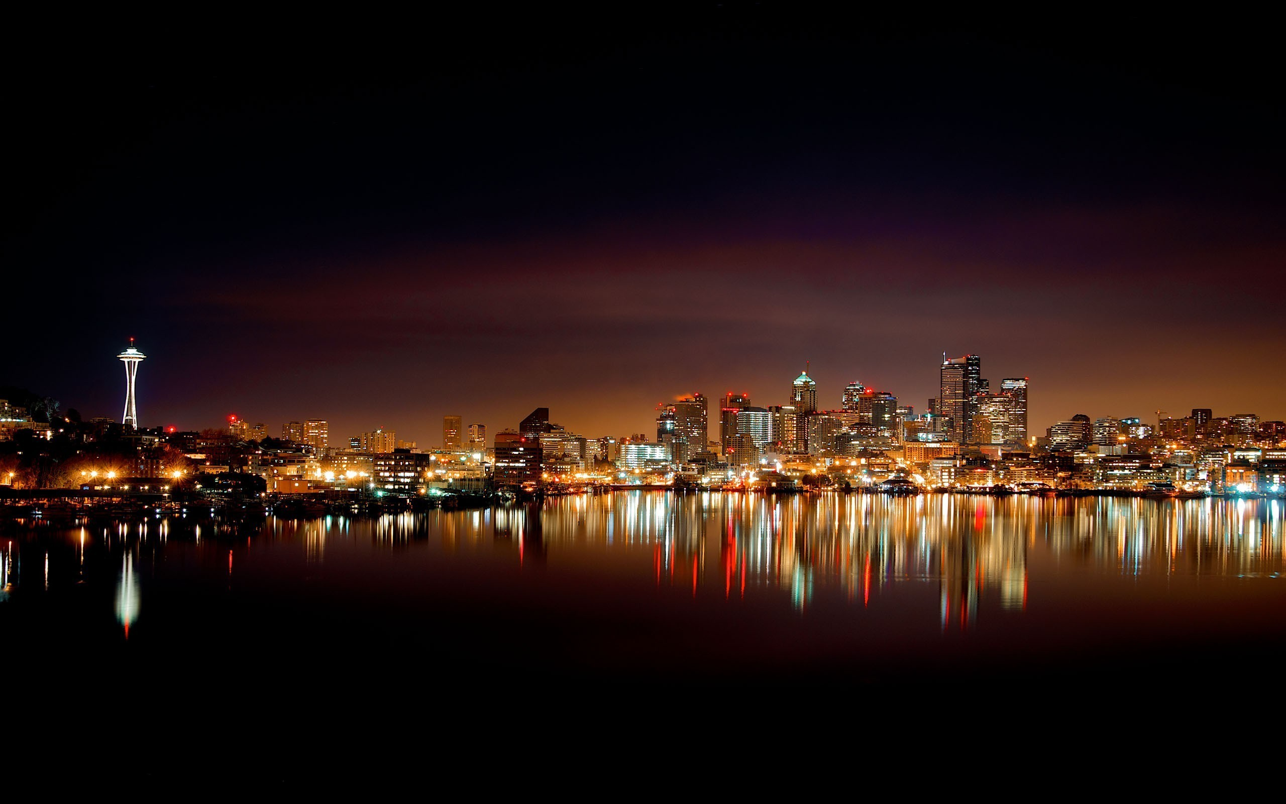 Res: 2560x1600, 3840x2160 HD Wallpaper   Background Image ID:888722. Man Made Seattle