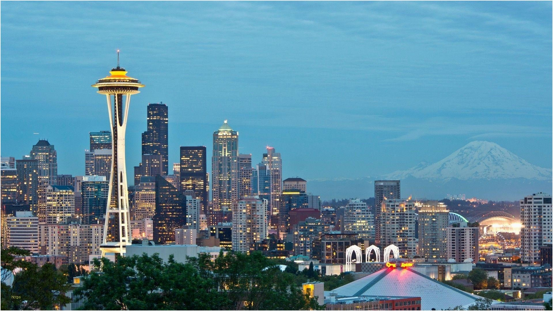 Res: 1920x1080, Seattle Wallpaper Beautiful Seattle Skyline Wallpapers Wallpaper Cave