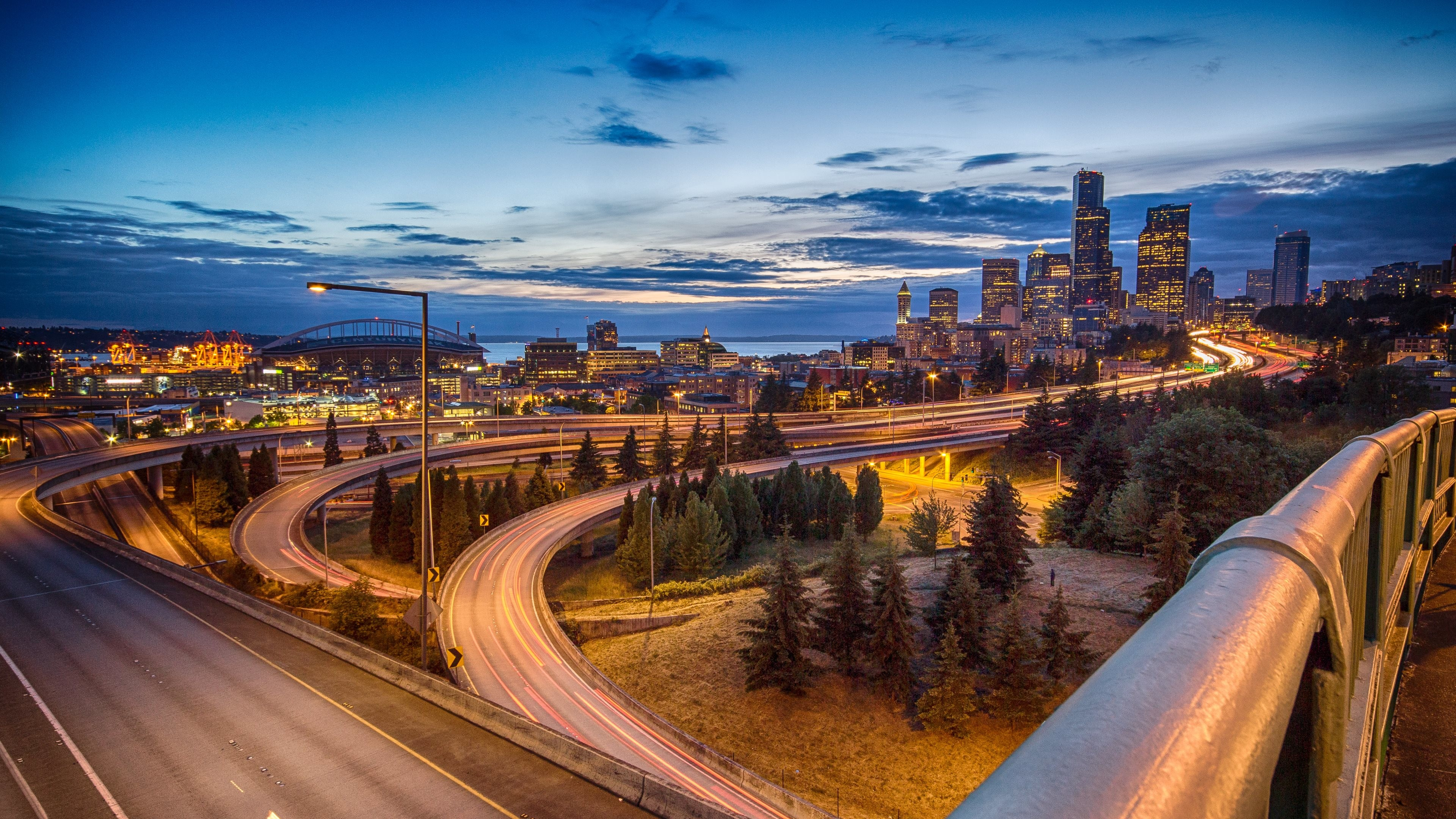Res: 3840x2160, ( px) 2018   HD Seattle Skyline Wallpapers
