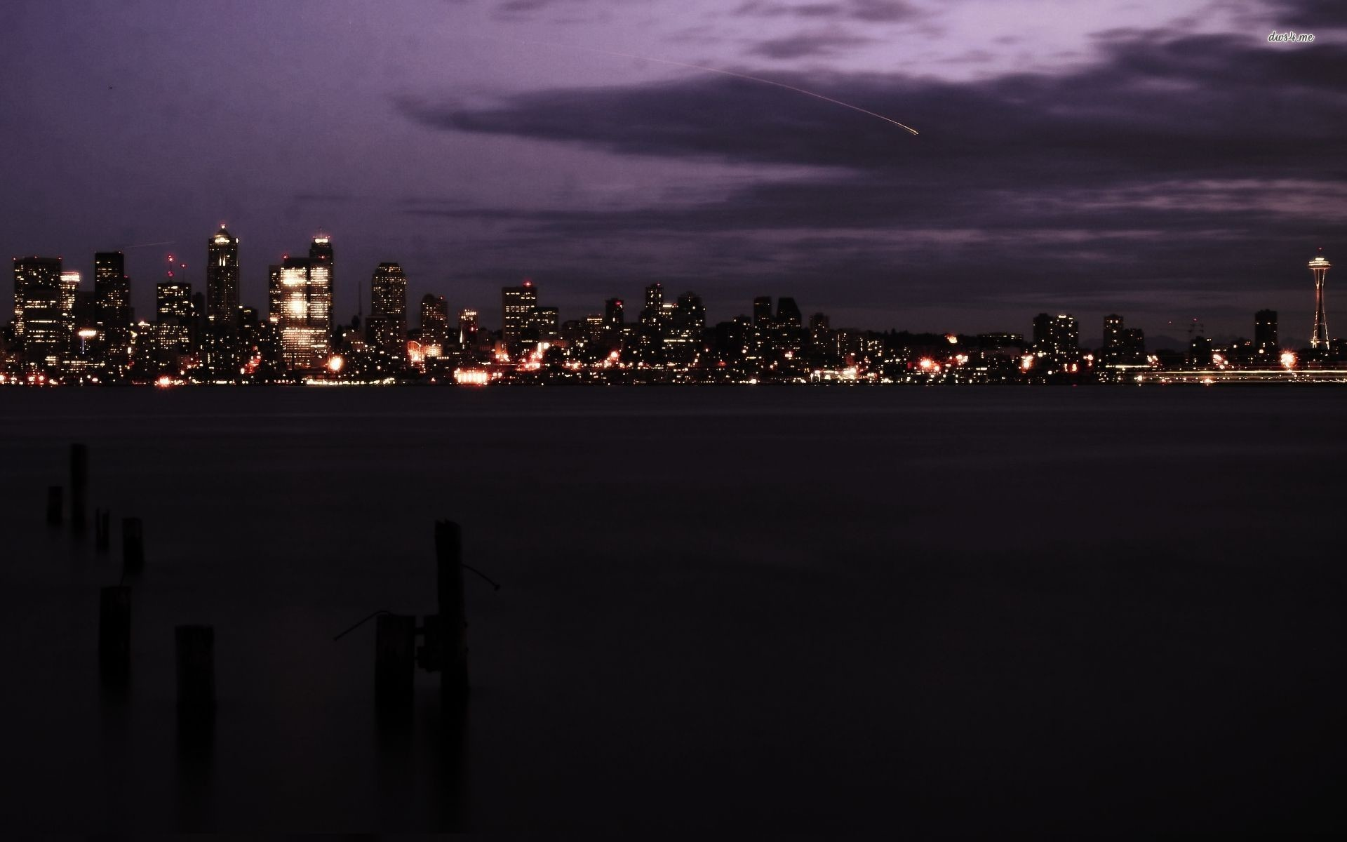 Res: 1920x1200, ... Seattle skyline wallpaper  ...