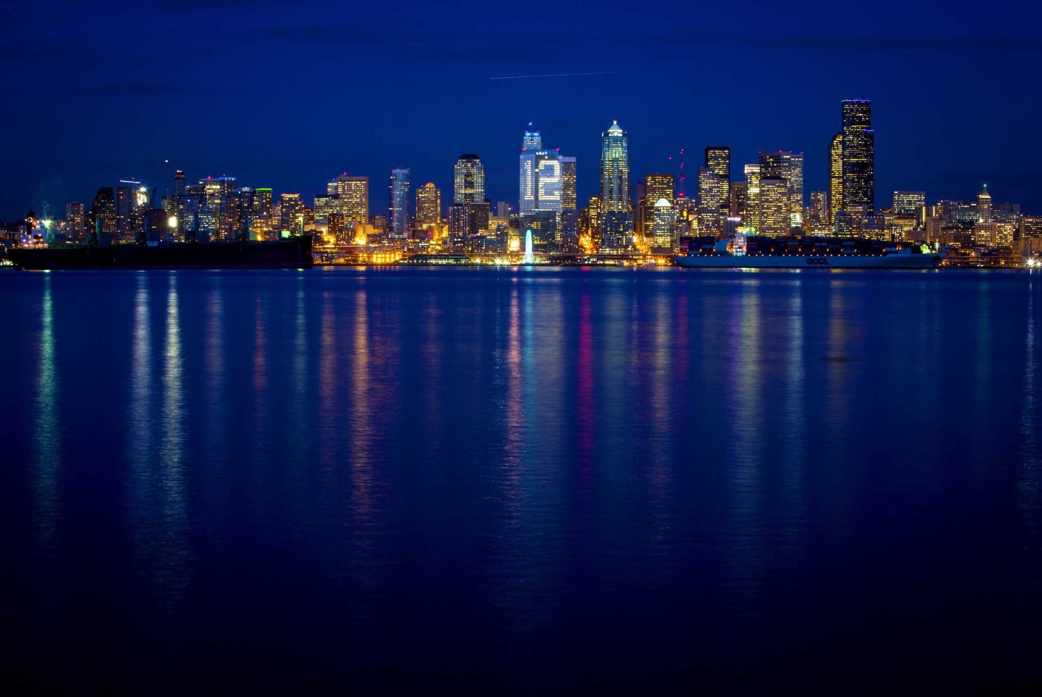 Res: 2048x1370, SEATTLE SEAHAWKS nfl football city cities skyline wallpaper |  |  604326 | WallpaperUP