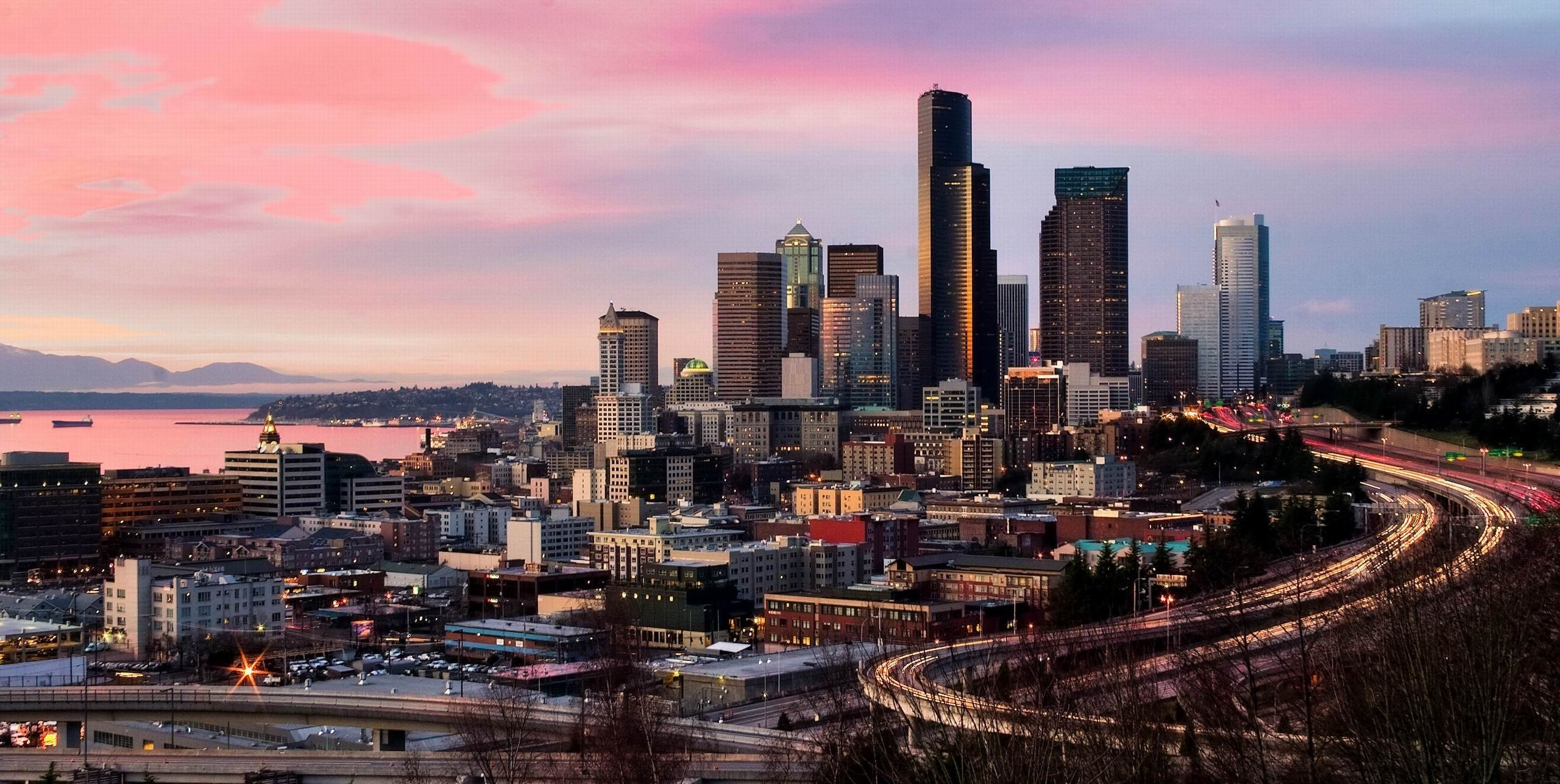Res: 2560x1287, seattle ...