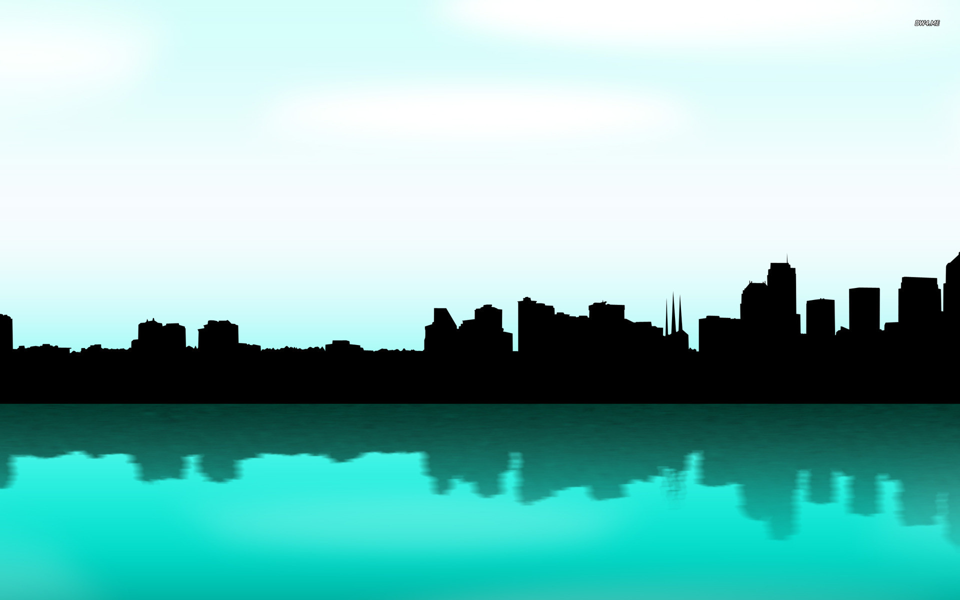 Res: 1920x1200, Seattle skyline wallpaper - Vector wallpapers - #429