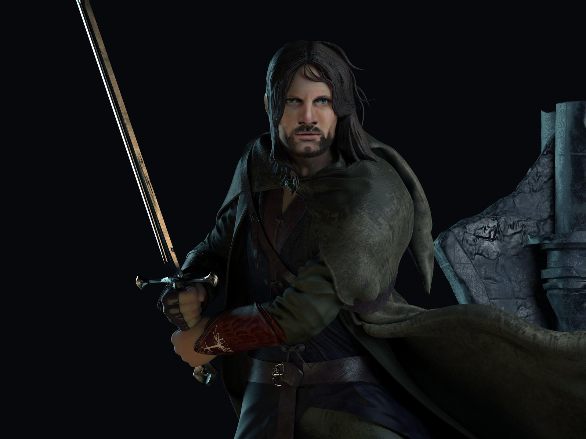 Res: 1920x1440, Aragorn facts