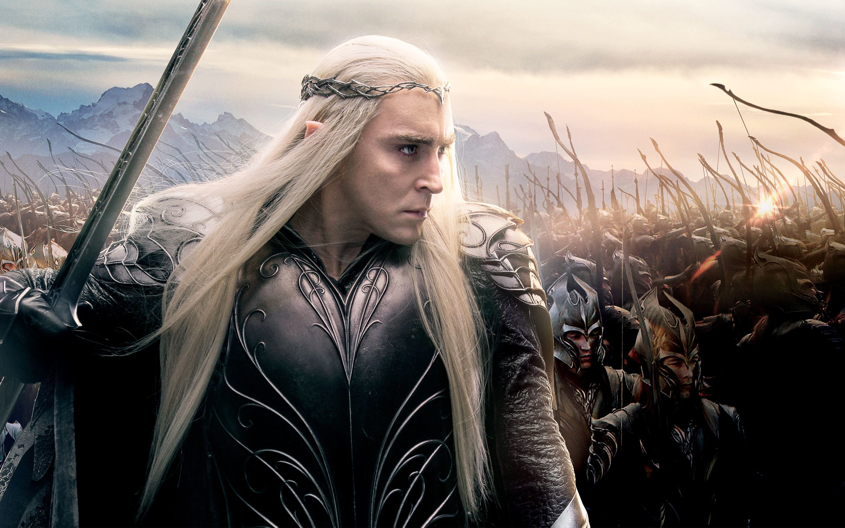 Res: 2880x1800, Lee Pace as Thranduil in Hobbit 3 Wallpapers | HD Wallpapers
