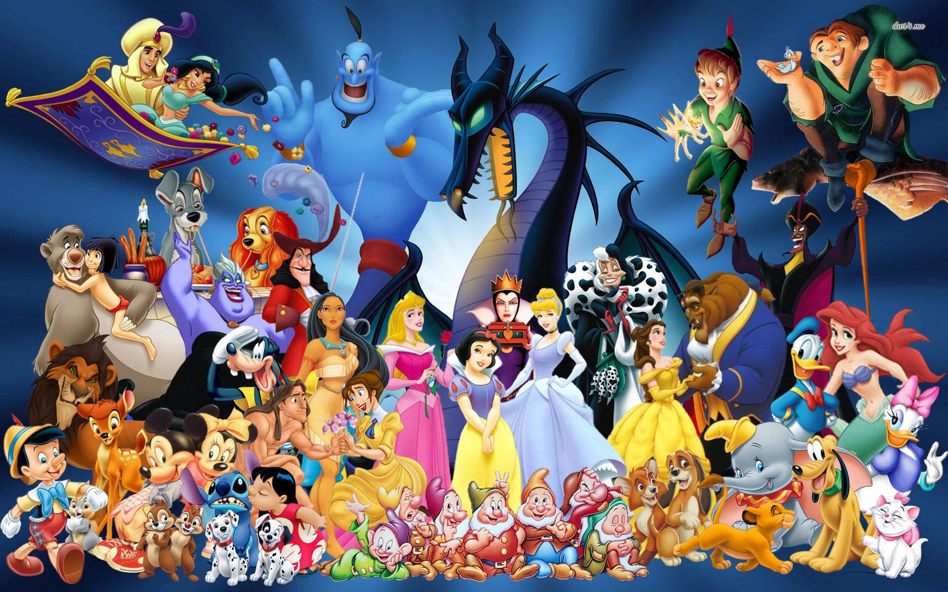 Res: 1920x1200,  Disney Cartoon Characters