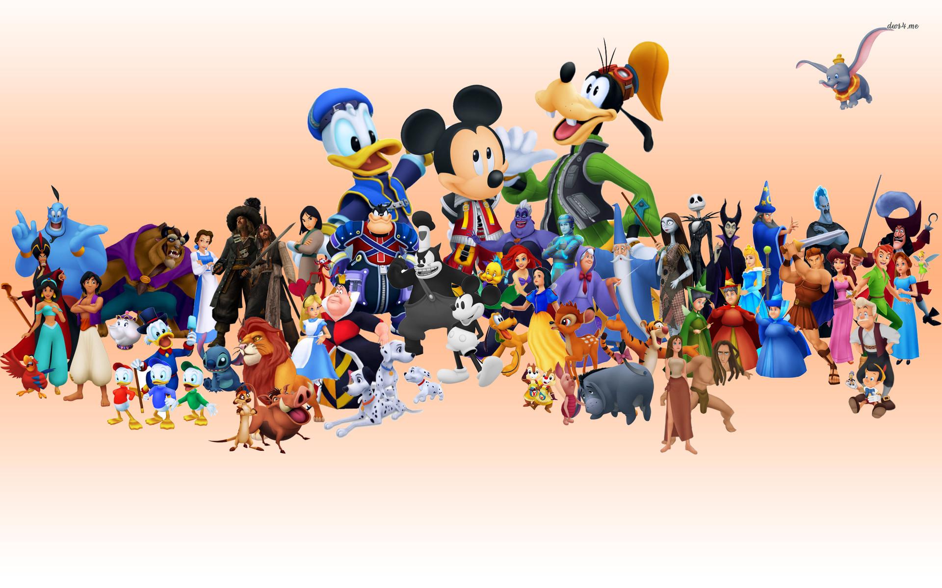 Res: 1920x1200, ... Disney Characters wallpaper  ...