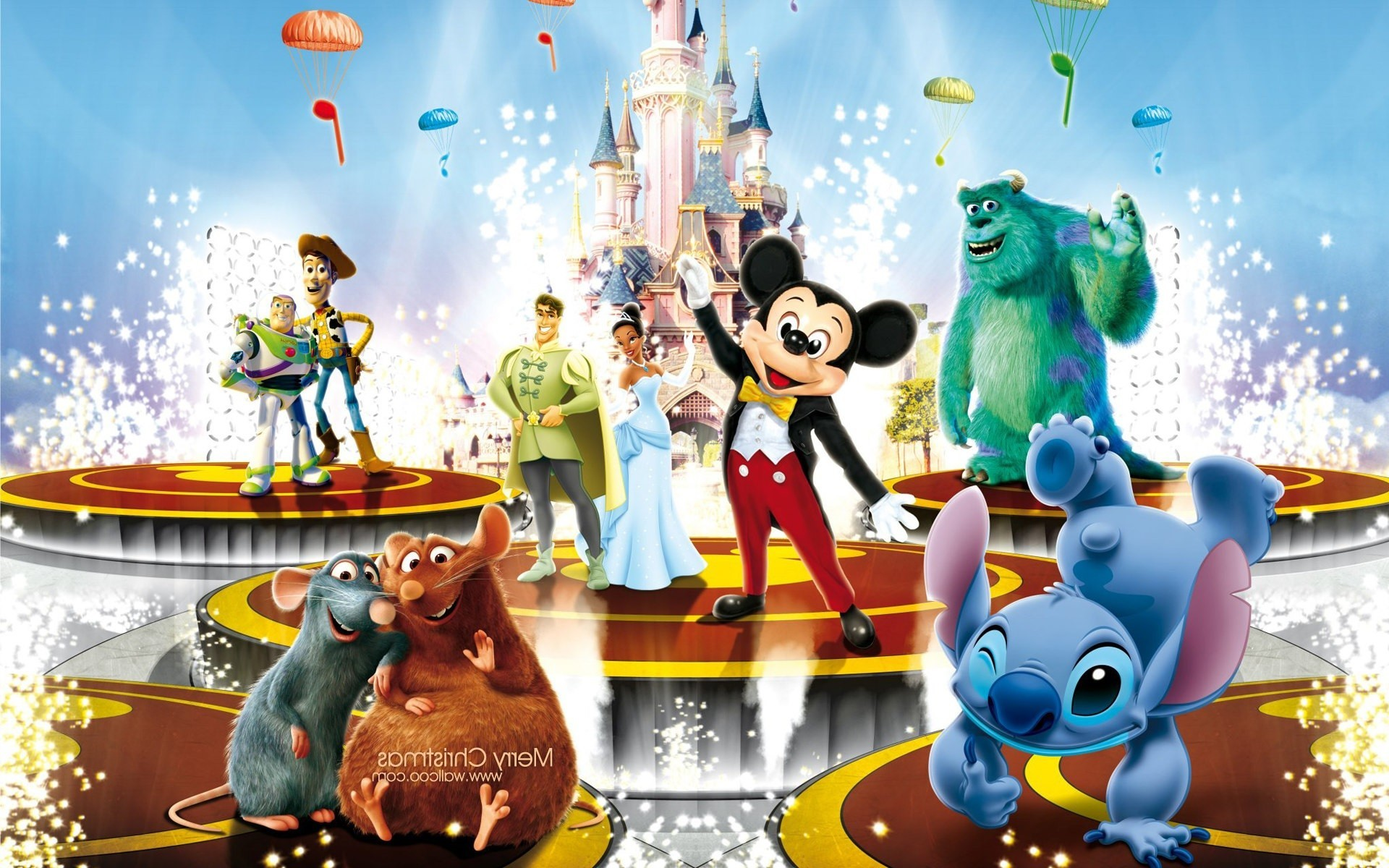 Res: 1920x1200, disney characters ...