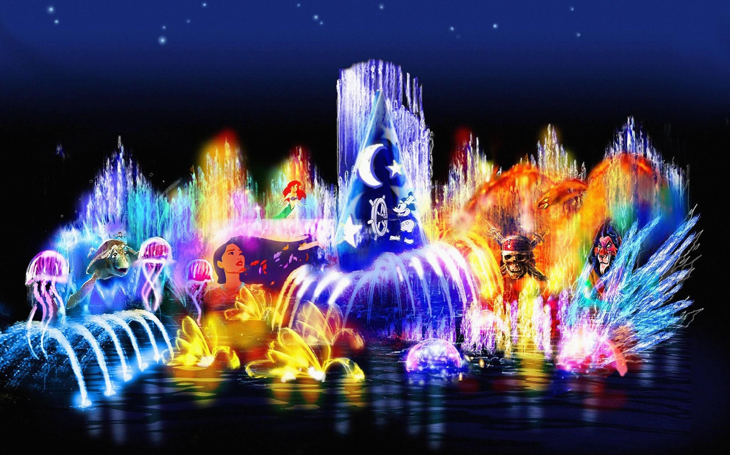 Res: 2560x1597,  Disney Character Beautiful Wallpaper - HD Wallpapers|WallForU.com