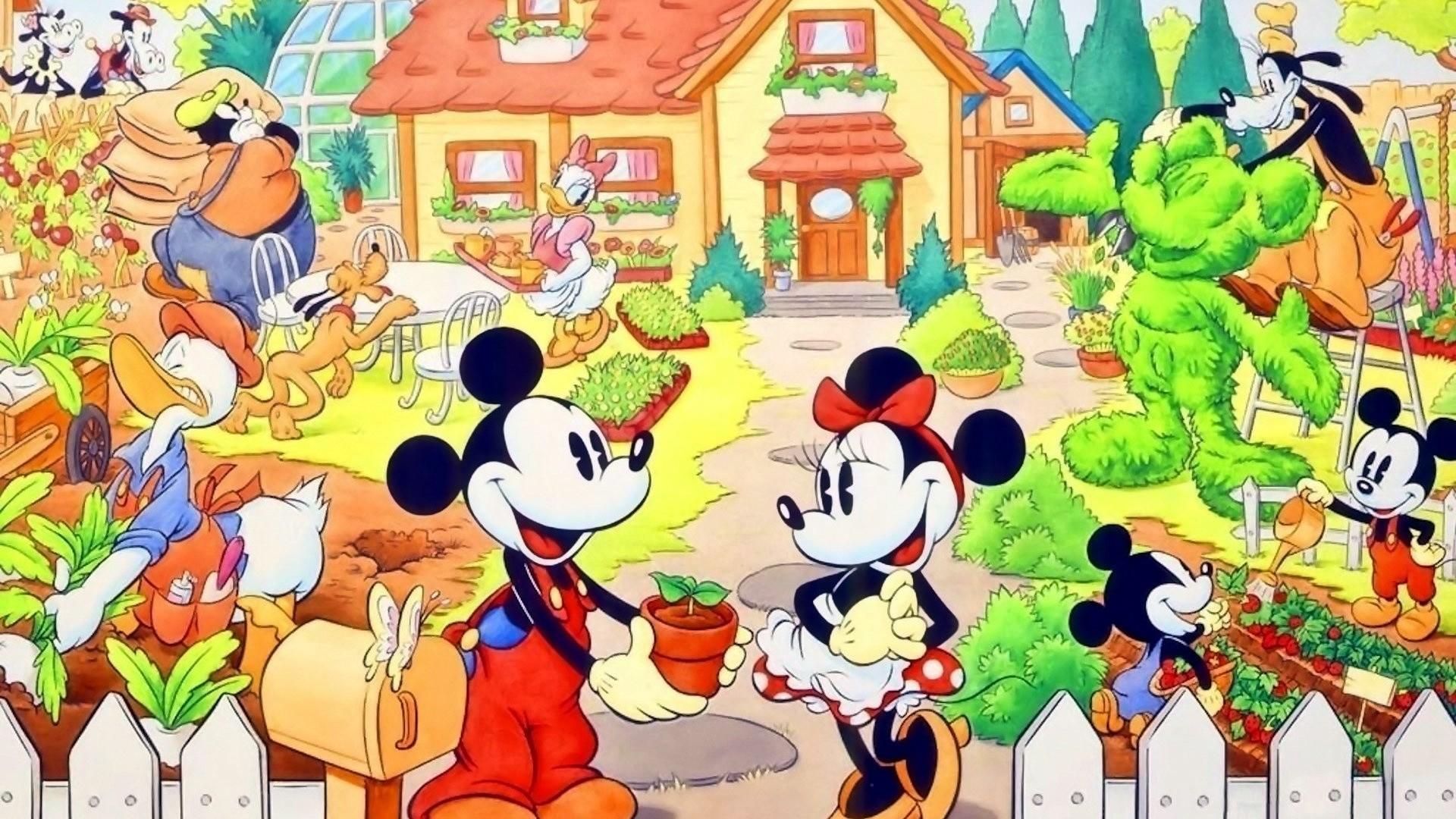 Res: 1920x1080, Related Posts · Walt Disney Characters Wallpaper ...