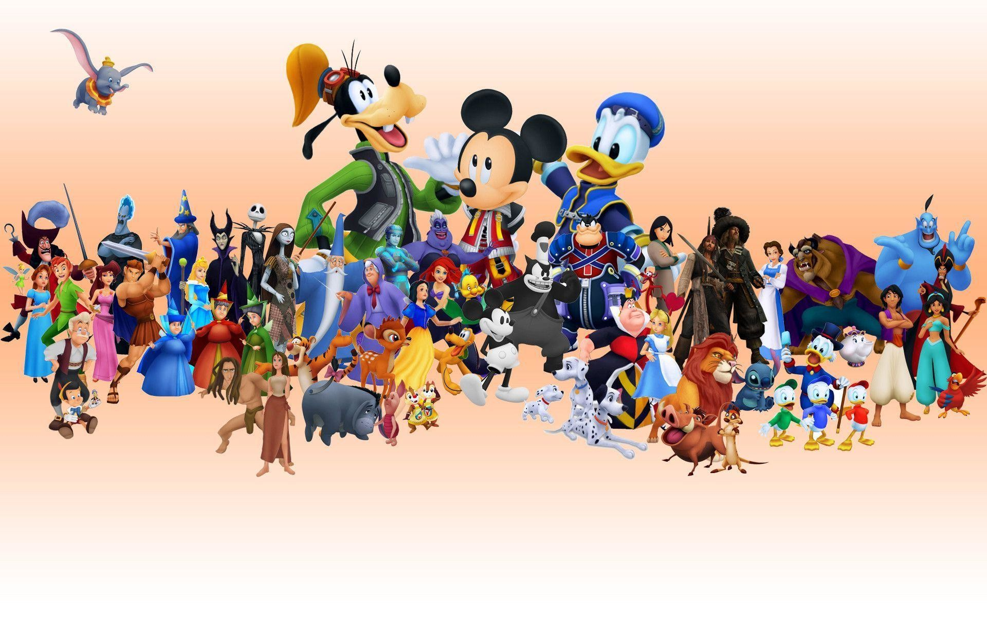 Res: 1920x1200, Disney Characters Wallpapers