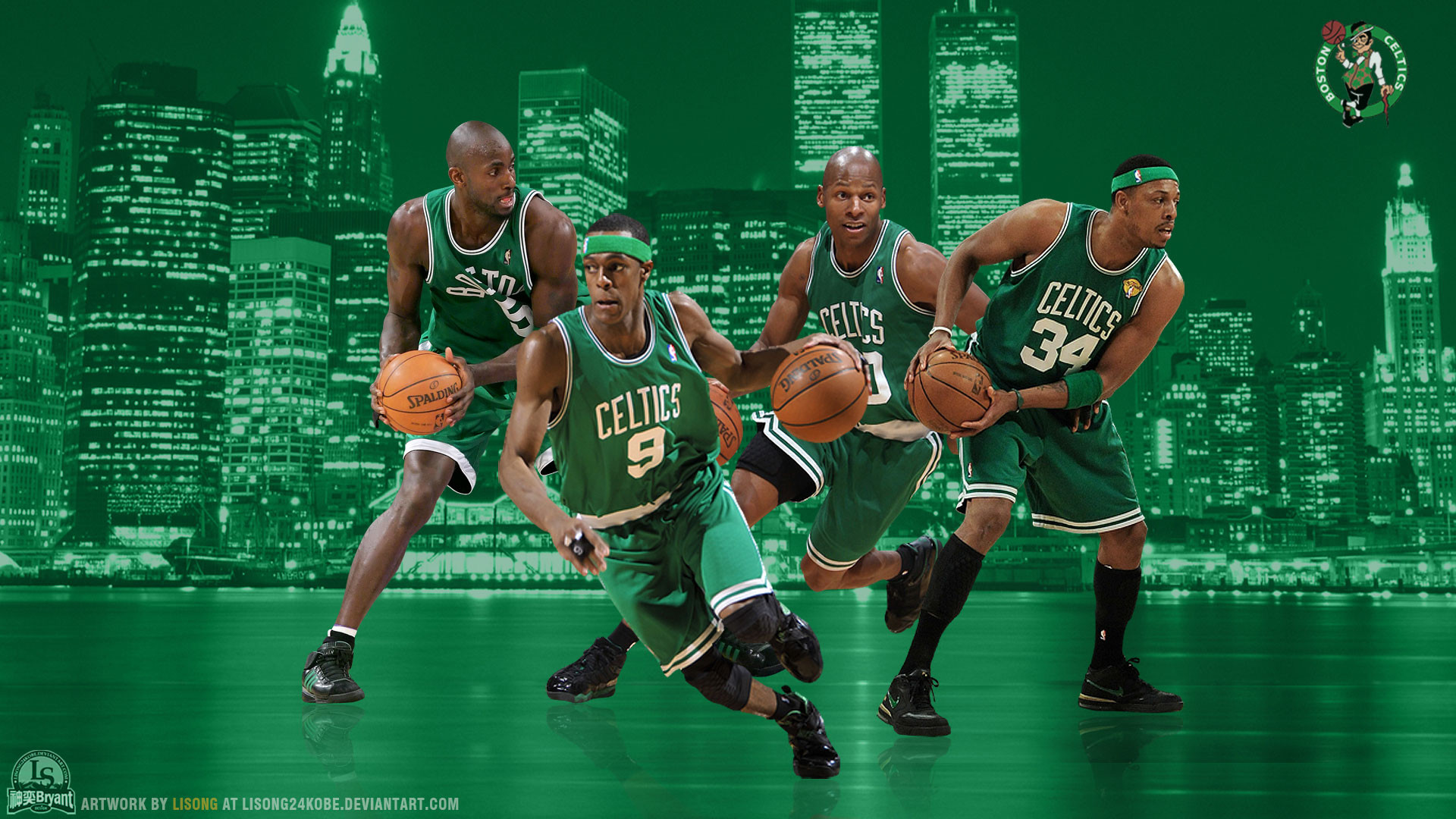 Res: 1920x1080, Boston Celtics Wallpapers | Basketball Wallpapers at .
