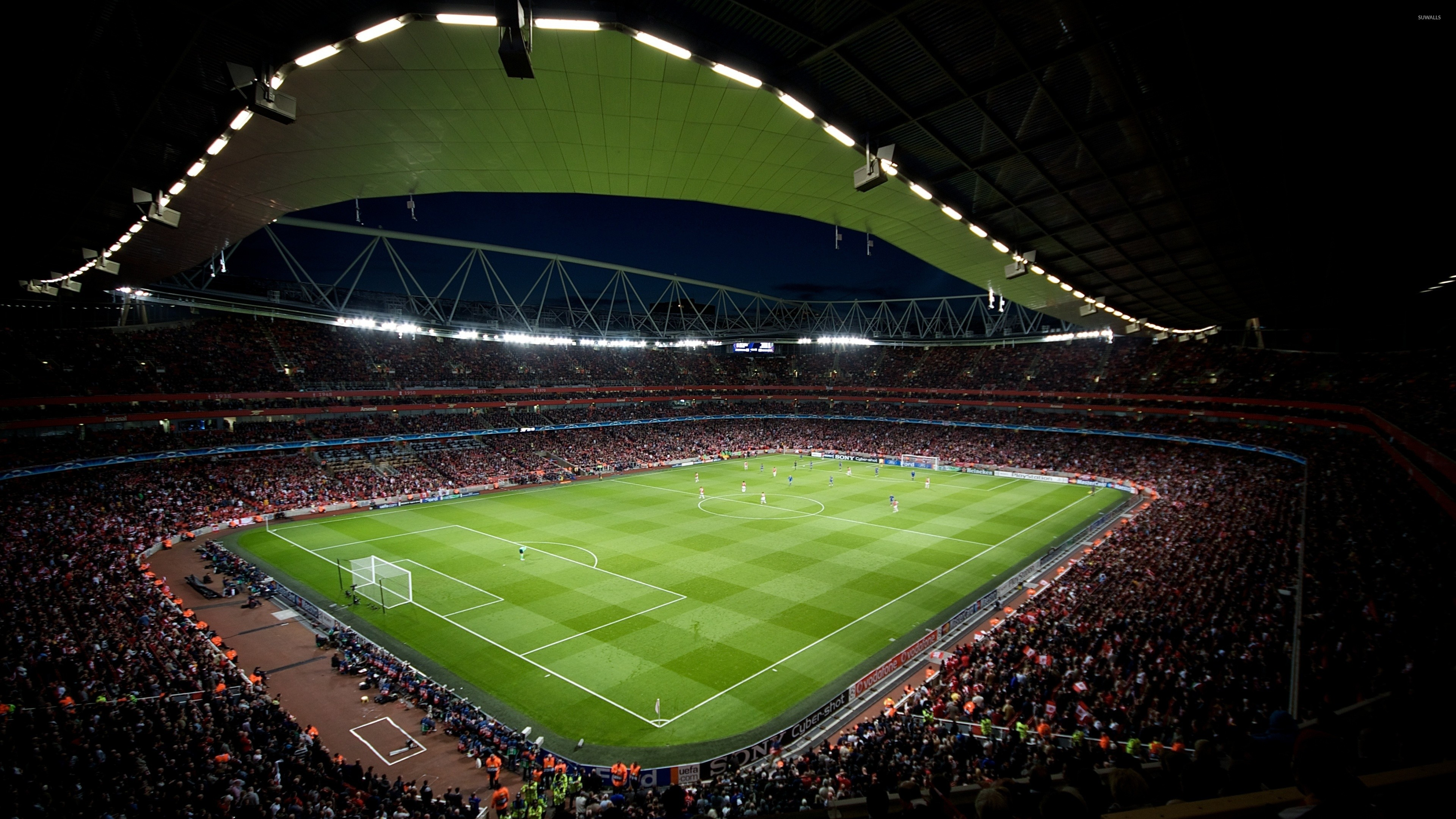 Res: 3840x2160, Football stadium wallpaper
