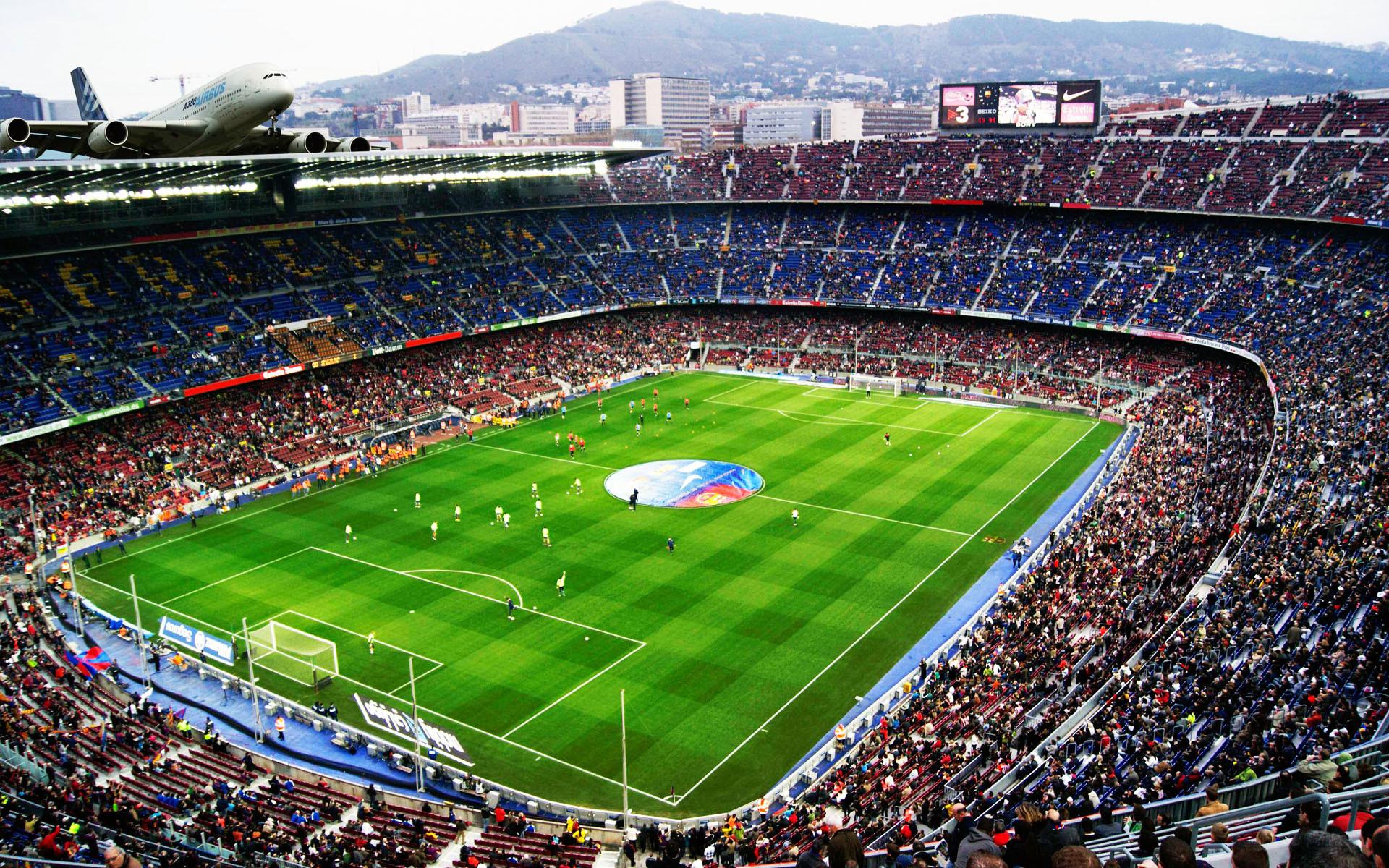 Res: 1920x1200, Football stadium