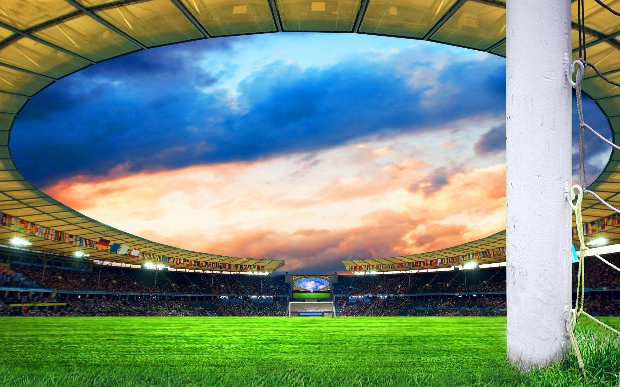 Res: 2560x1600, New Football Stadium HD Wallpaper 16 - 2560 X 1600