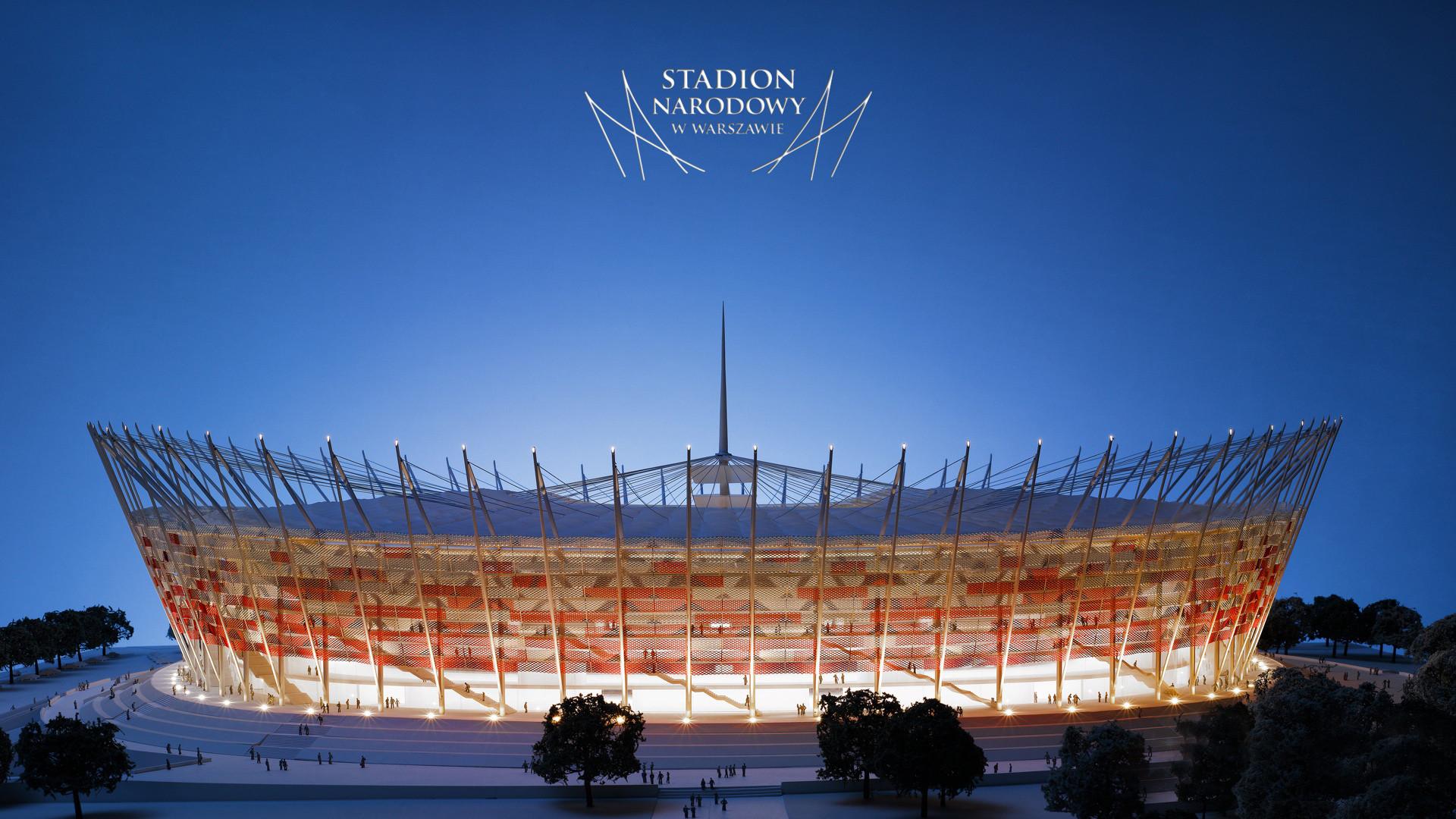 Res: 1920x1080, Warsaw Euro Football Stadium