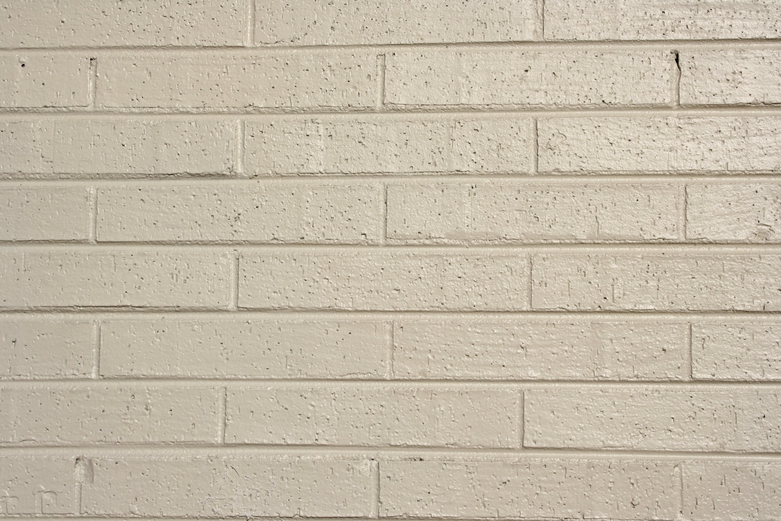 Res: 3000x2000, Free Photograph of cream colored painted bricks texture for background or  wallpaper