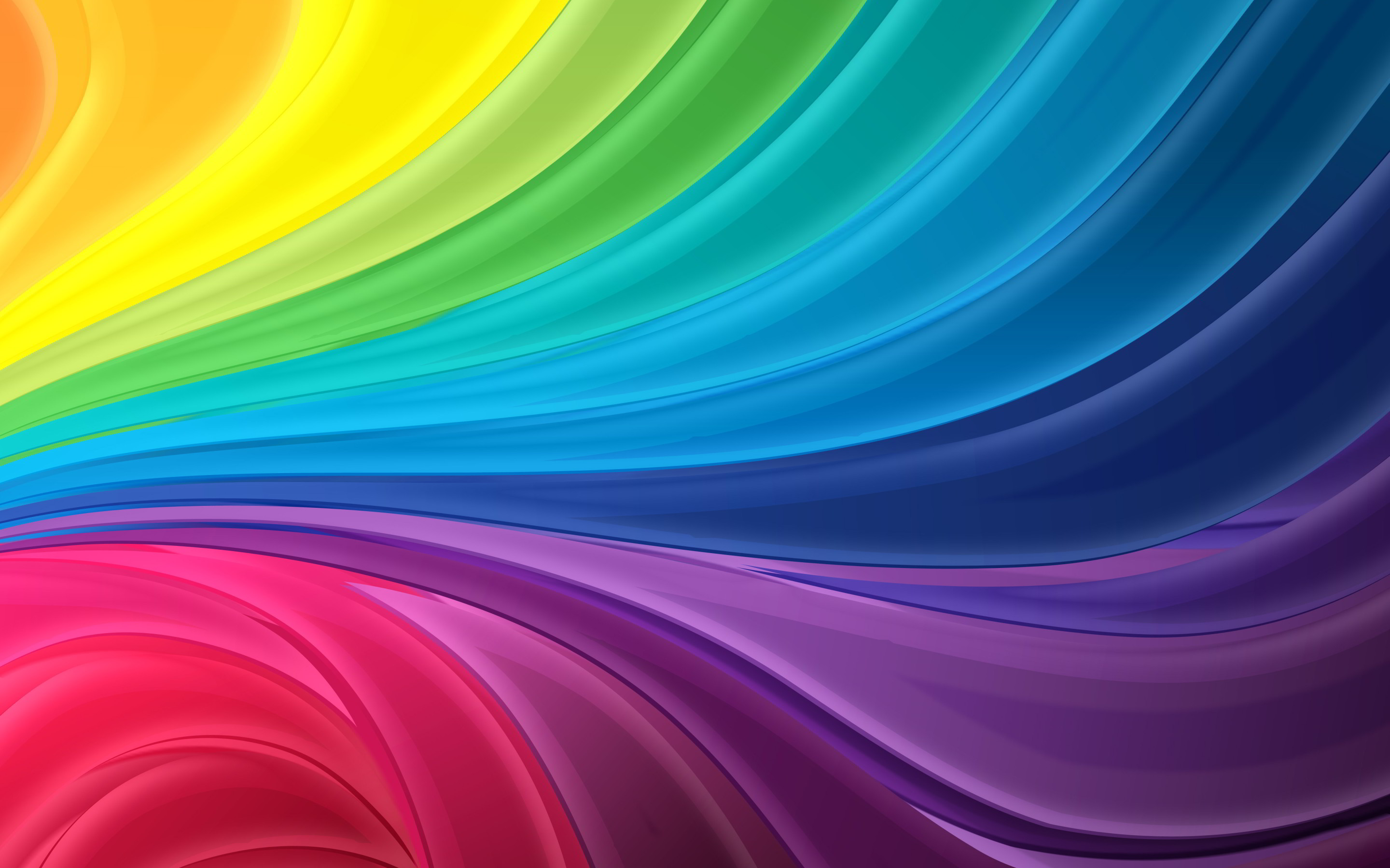 Res: 2880x1800, Rainbow Colored Wallpaper (, vr.269) ...