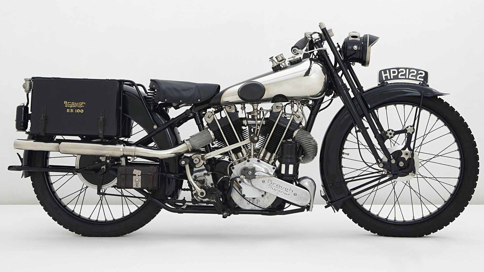Res: 1920x1080, Brough Superior SS 100 Motorcycle