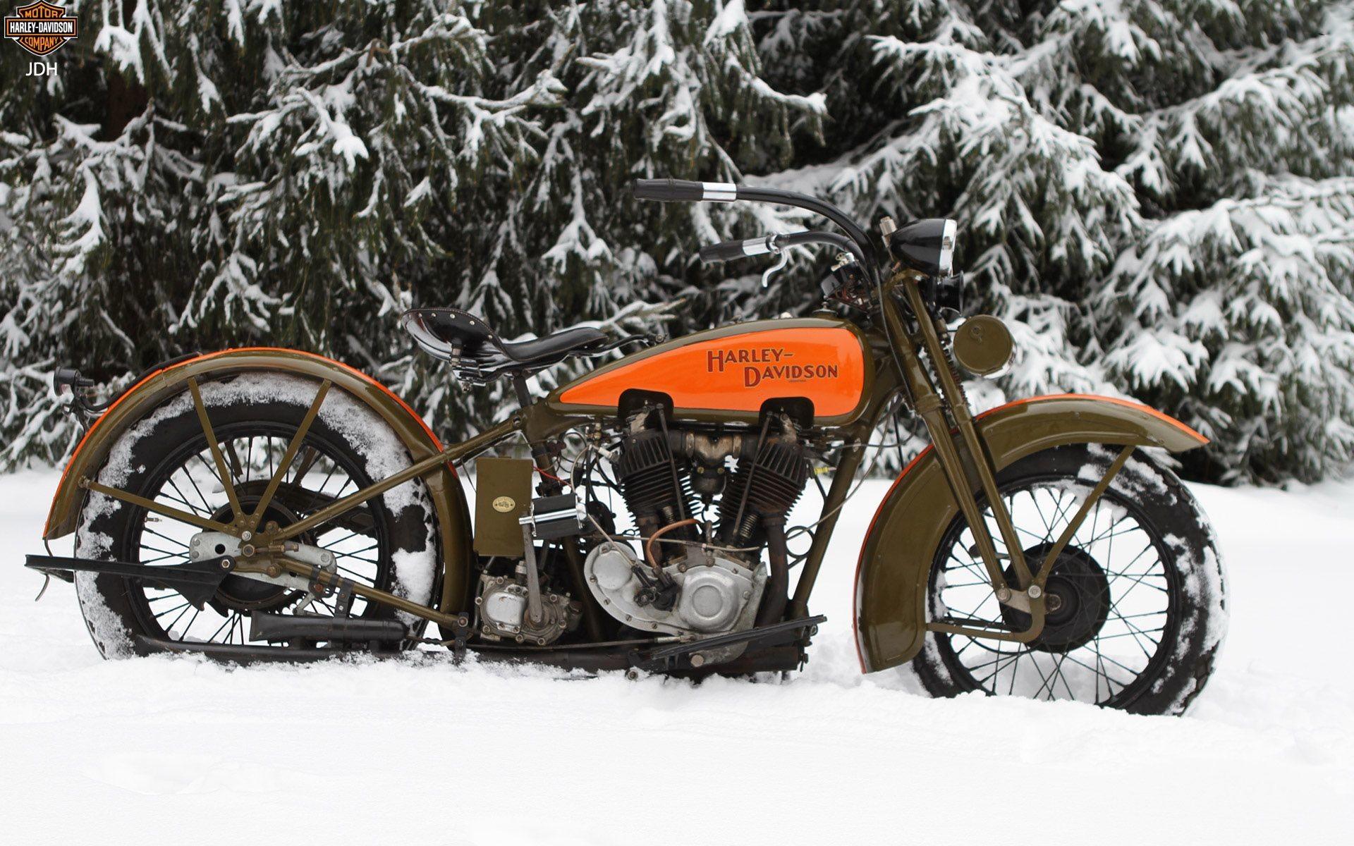 Res: 1920x1200, Harley Davidson JDH Retro Motorcycle, Classic Motorcycle, Vintage  Motorcycles, Cars And Motorcycles,