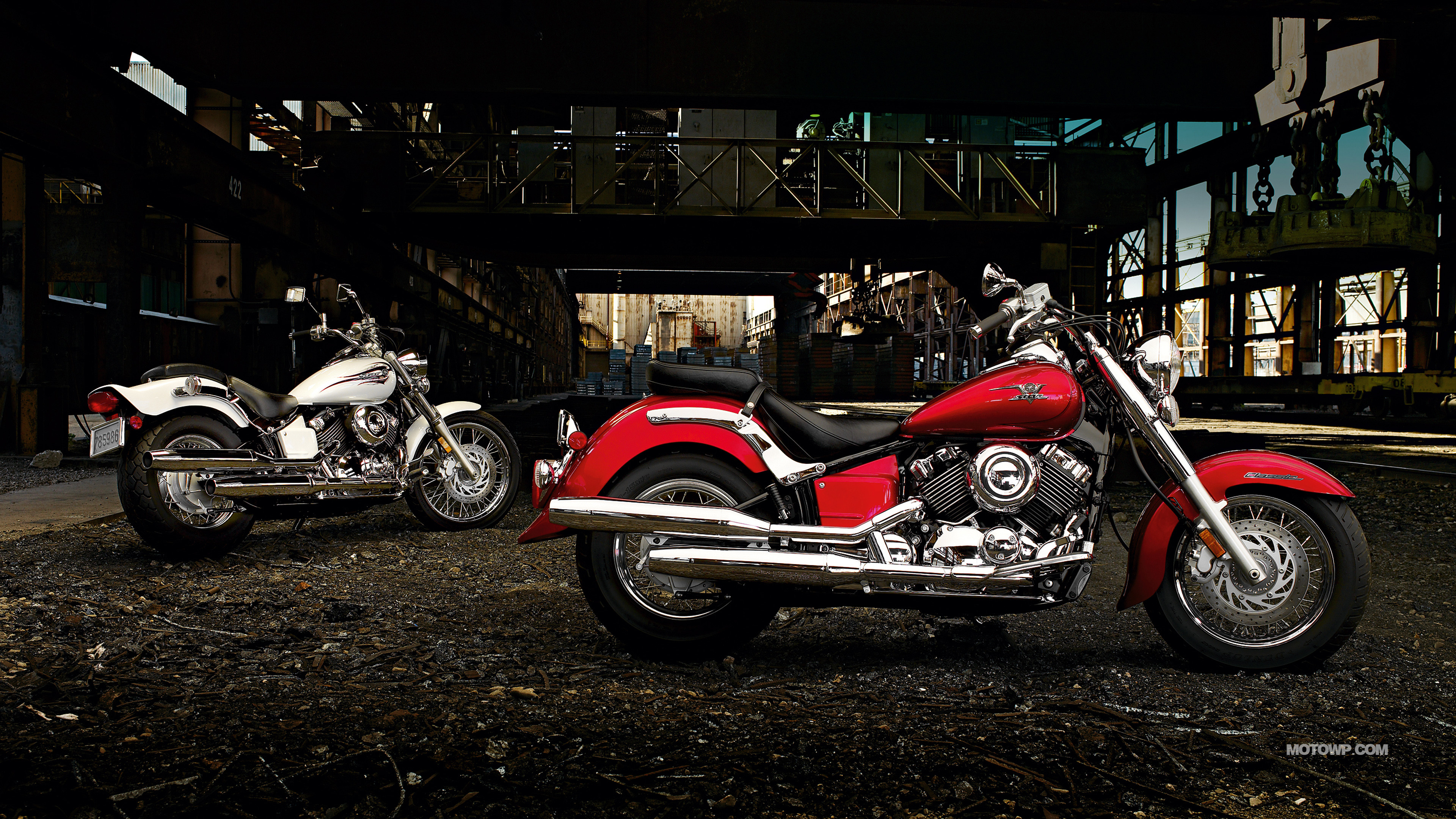 Res: 3840x2160, Motorcycles wallpapers Yamaha V Star Classic - 2010 - Car wallpapers