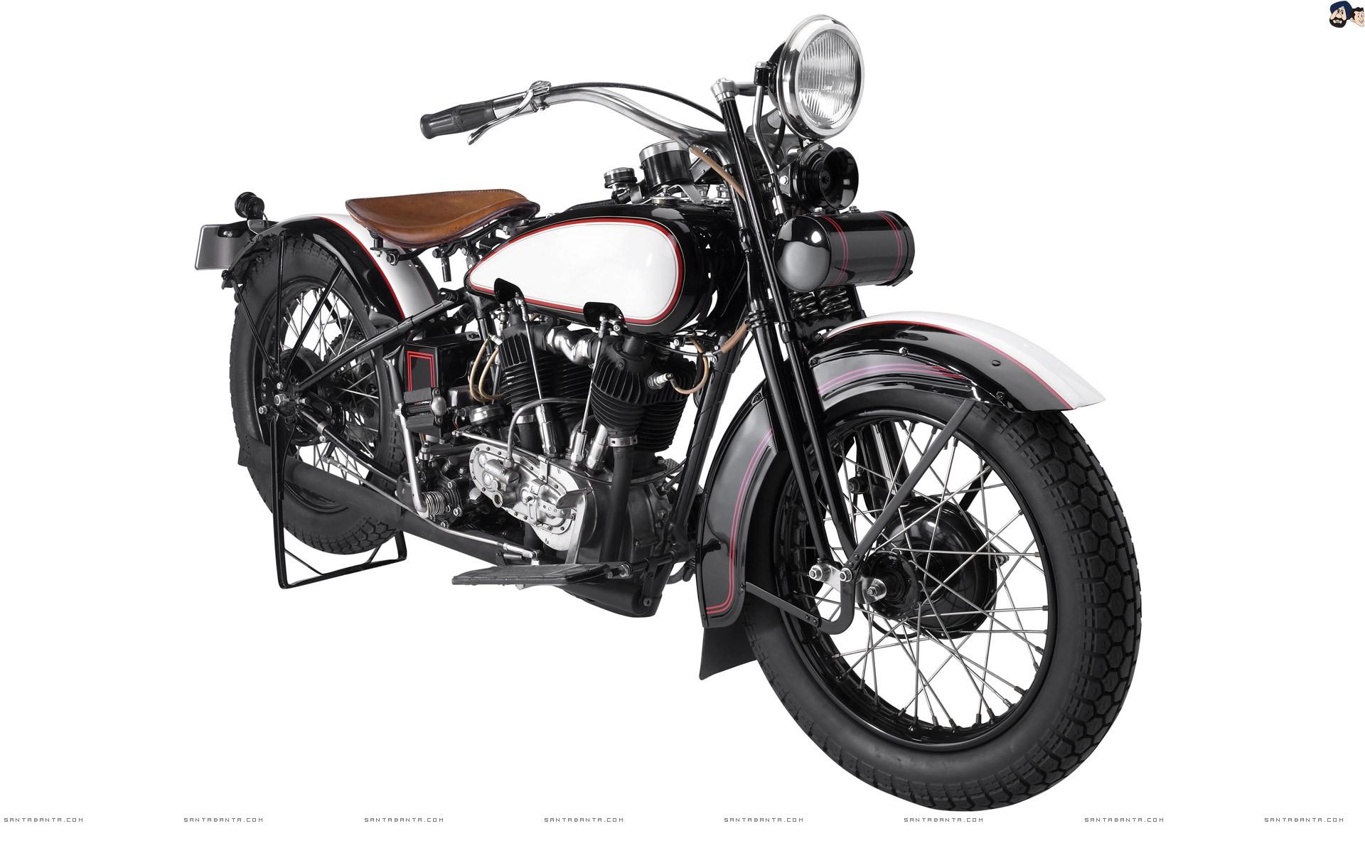 Res: 1920x1200, Fascinating Old Vintage Motorcycle.
