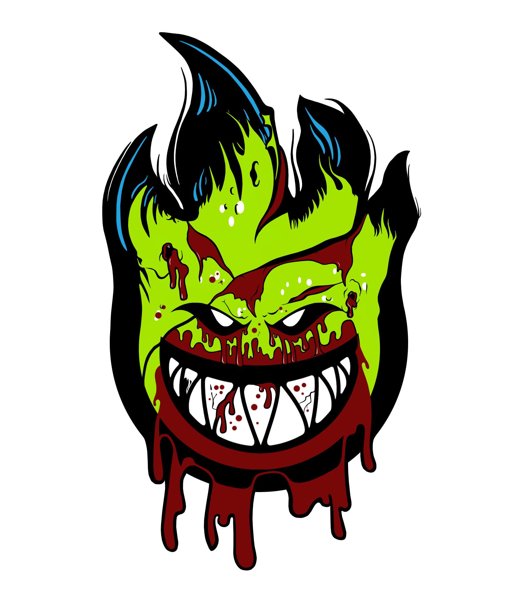 Res: 1650x1920, Resultado de imagen para skate zombie wallpaper | Spit Fire .