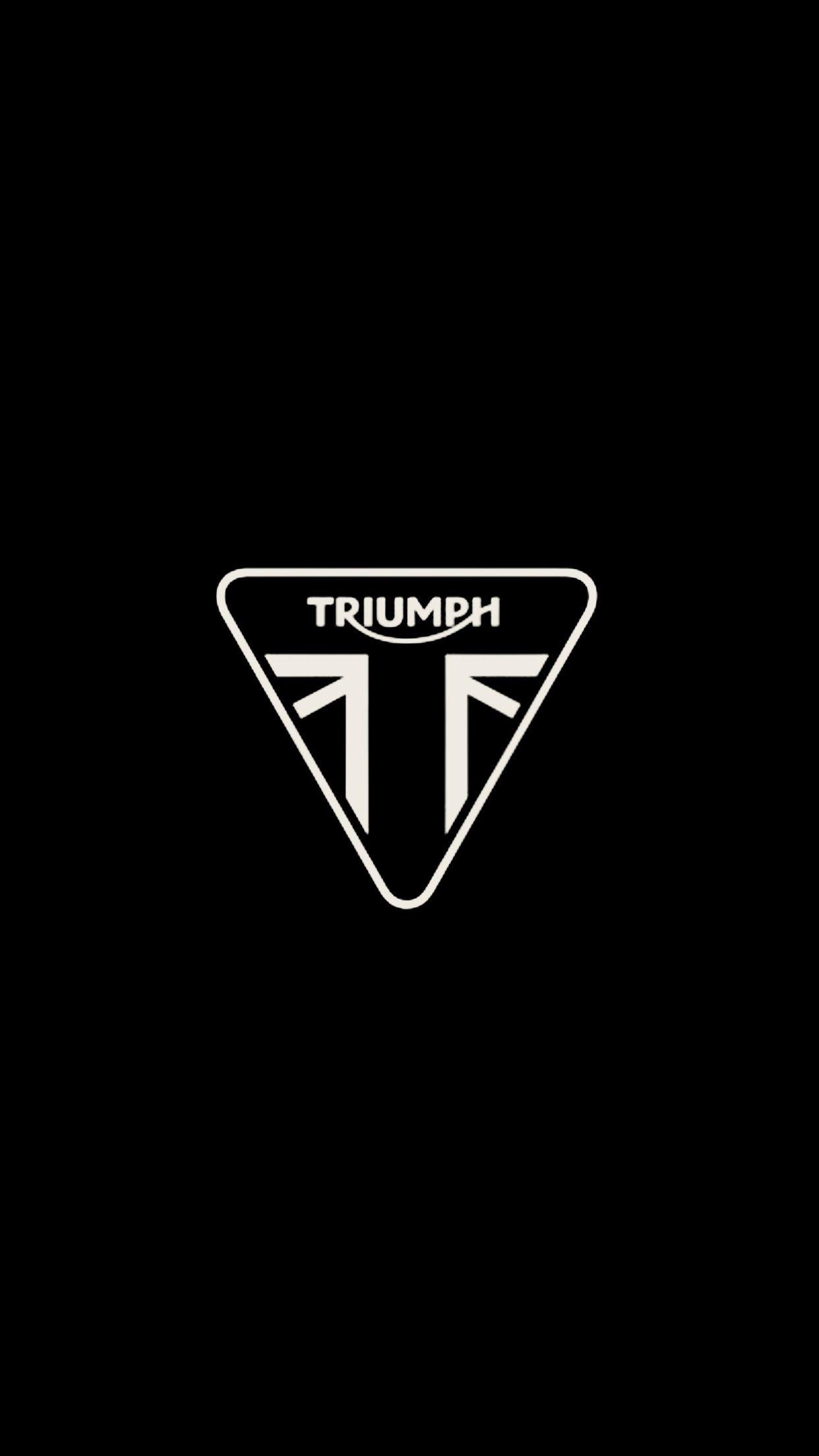 Res: 1242x2208, Triumph LOGO # Wallpaper