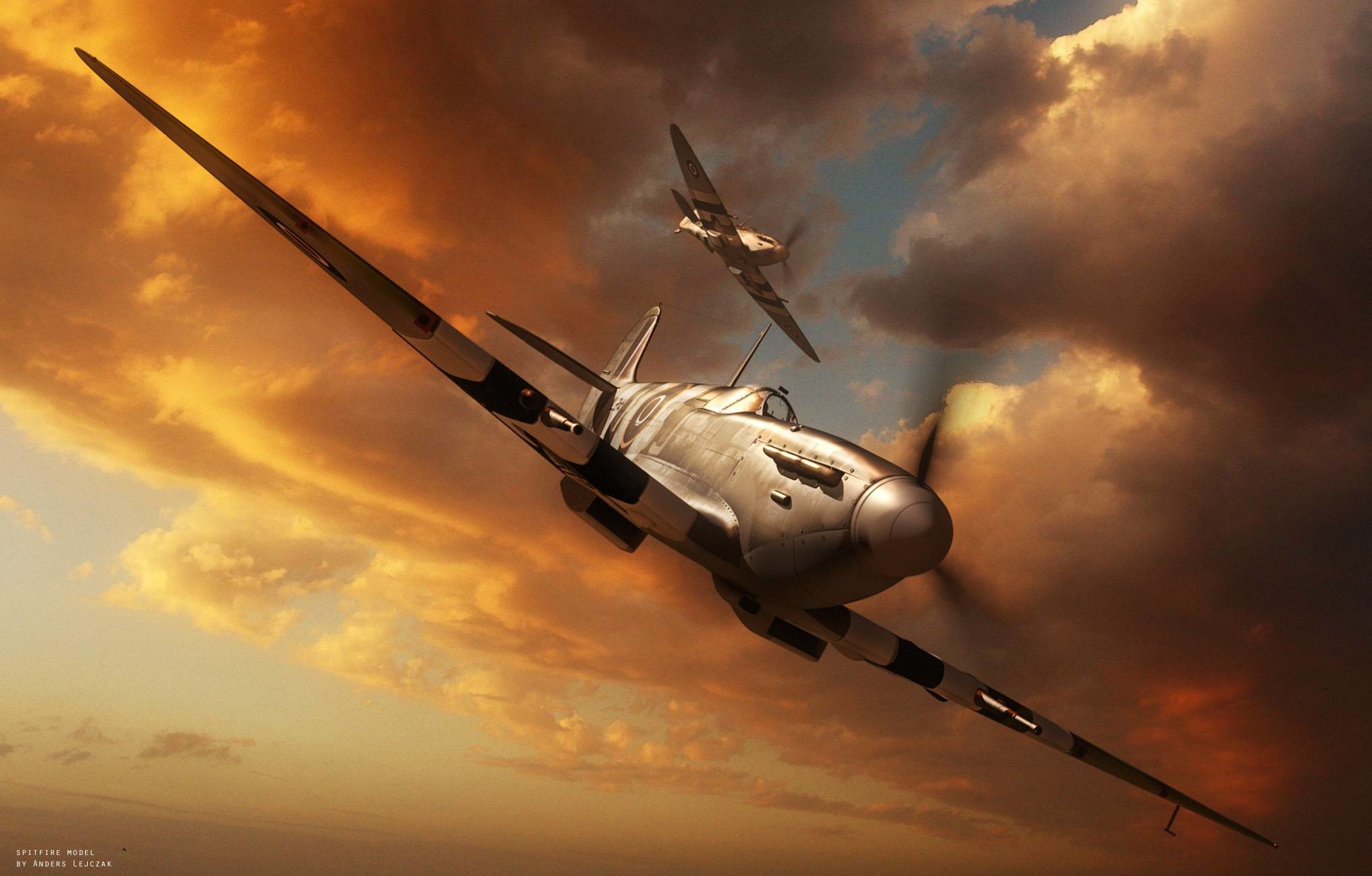 Res: 2032x1297, 46 Supermarine Spitfire HD Wallpapers | Background Images