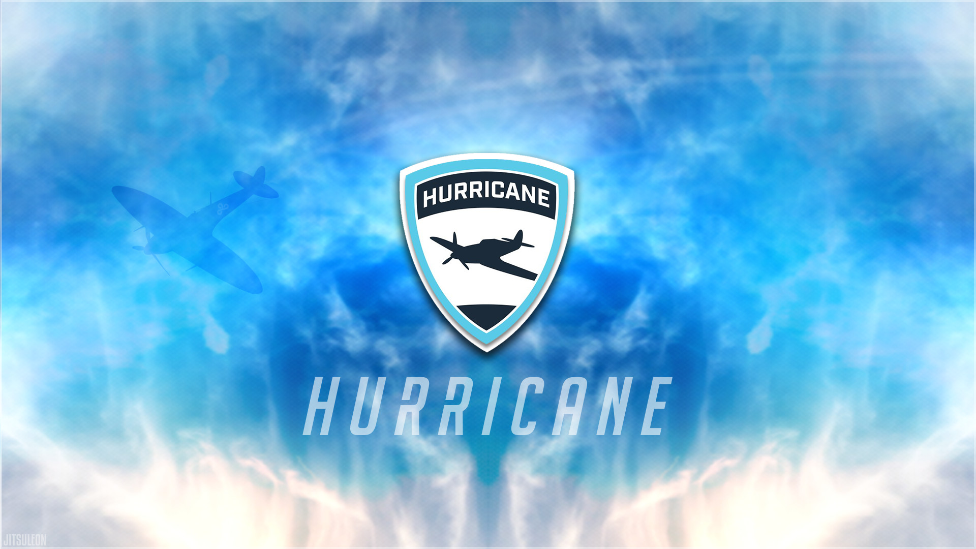 Res: 1920x1080, Fan-ContentSupport Hurricane with the new re-designed wallpaper! (Spitfire  Wallpaper remade with Hurricane Logo) ...