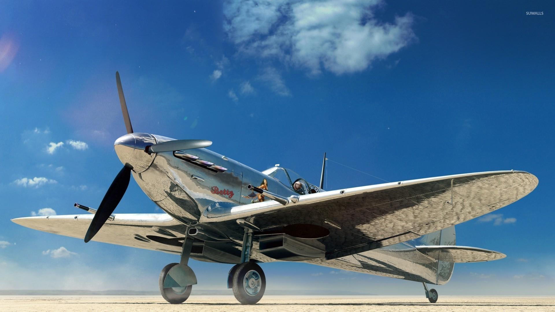 Res: 1920x1080, Supermarine Spitfire [6] wallpaper
