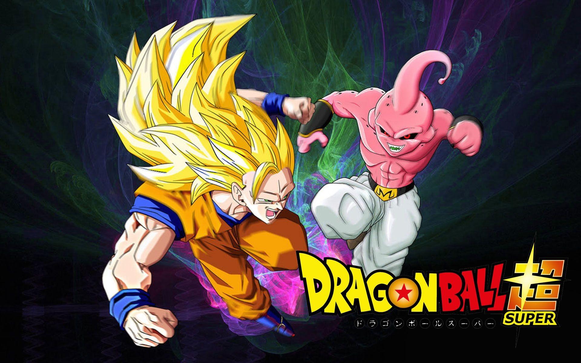 Res: 1920x1200, Dragon Ball Super Goku Vs Majin Buu Wallpaper