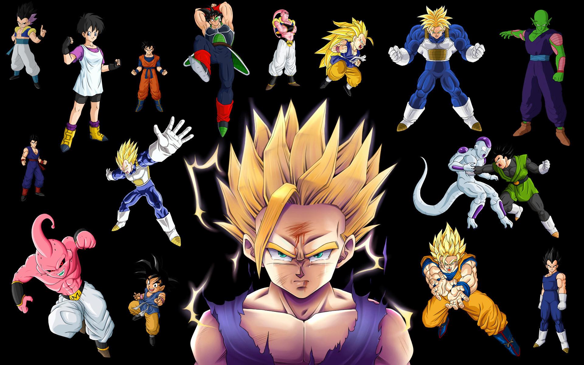 Res: 1920x1200, 1920x1080 Goku vs Buu Wallpaper by Billysan291 Goku vs Buu Wallpaper by  Billysan291
