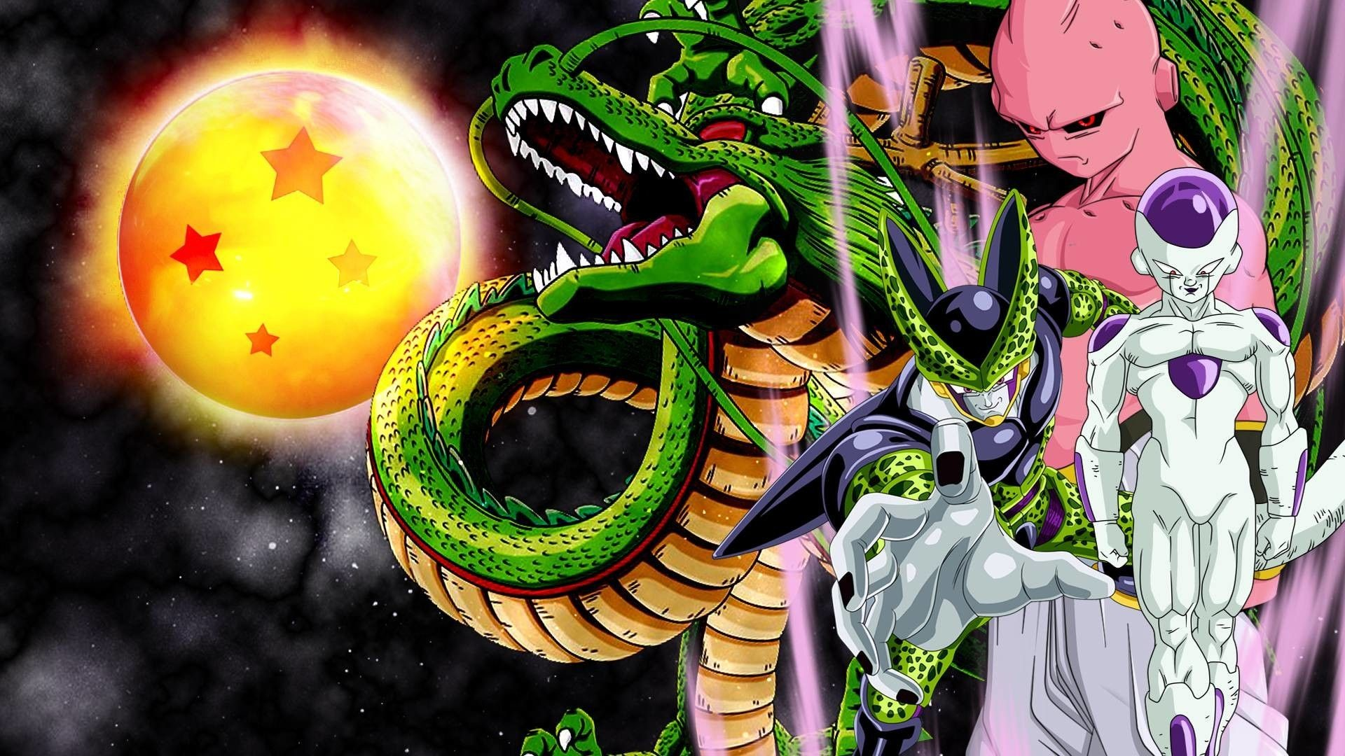 Res: 1920x1080,  Frieza, cell and buu wallpaper by vuLC4no on DeviantArt