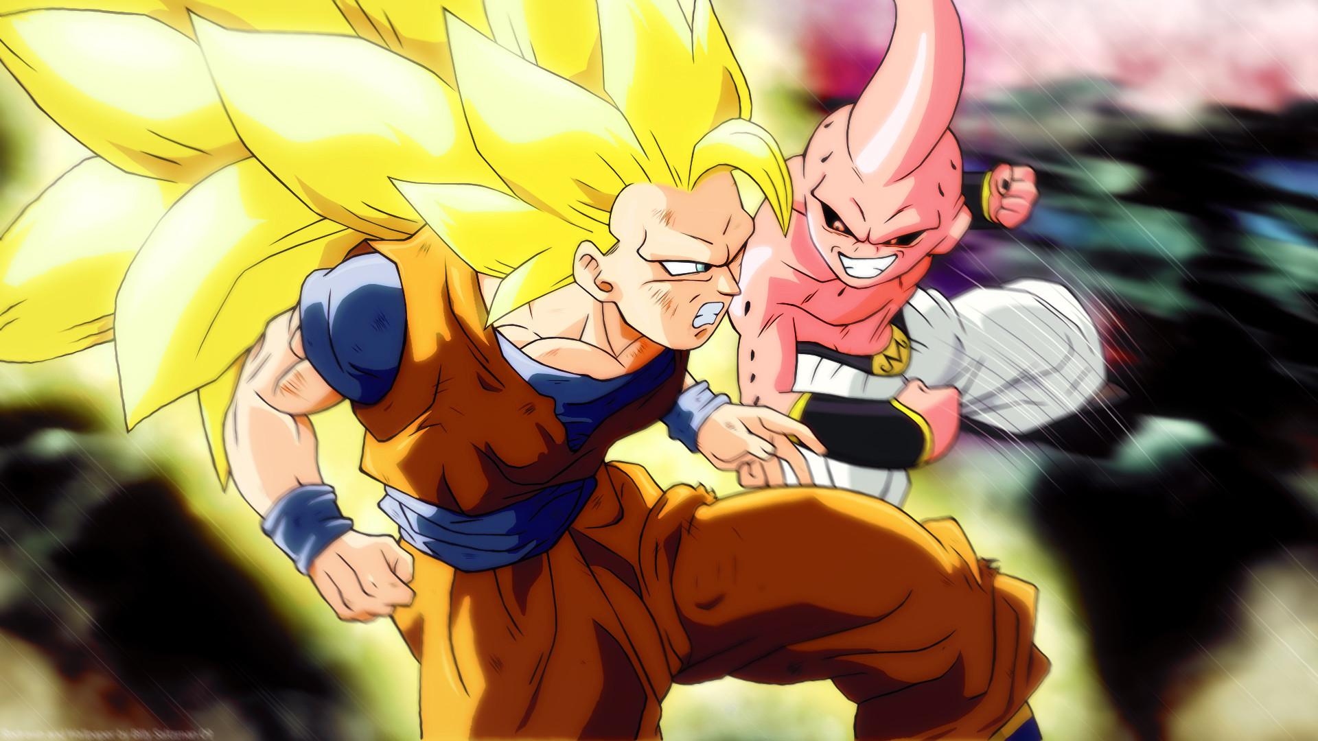 Res: 1920x1080, Goku vs Buu Wallpaper by Billysan291 Goku vs Buu Wallpaper by Billysan291